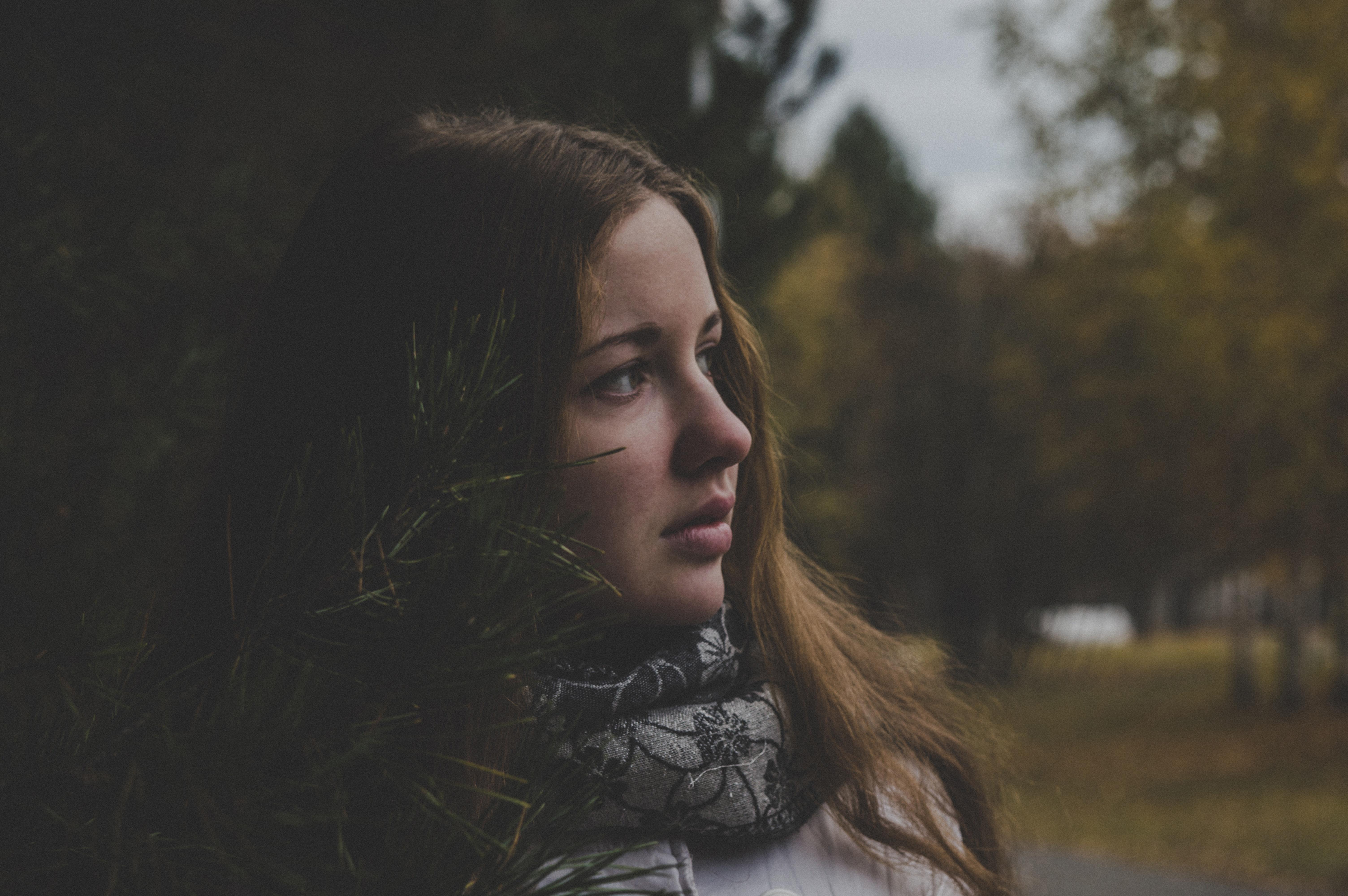 Portrait of a Woman, Landscape, Young, Woods, Woman, HQ Photo
