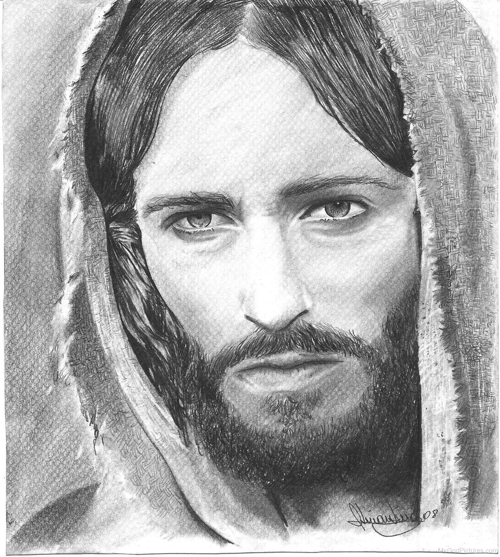 Portrait of jesus photo