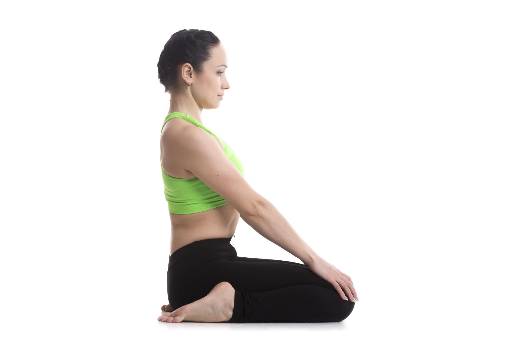 Yoga Pose: Hero Pose | YogaClassPlan.com