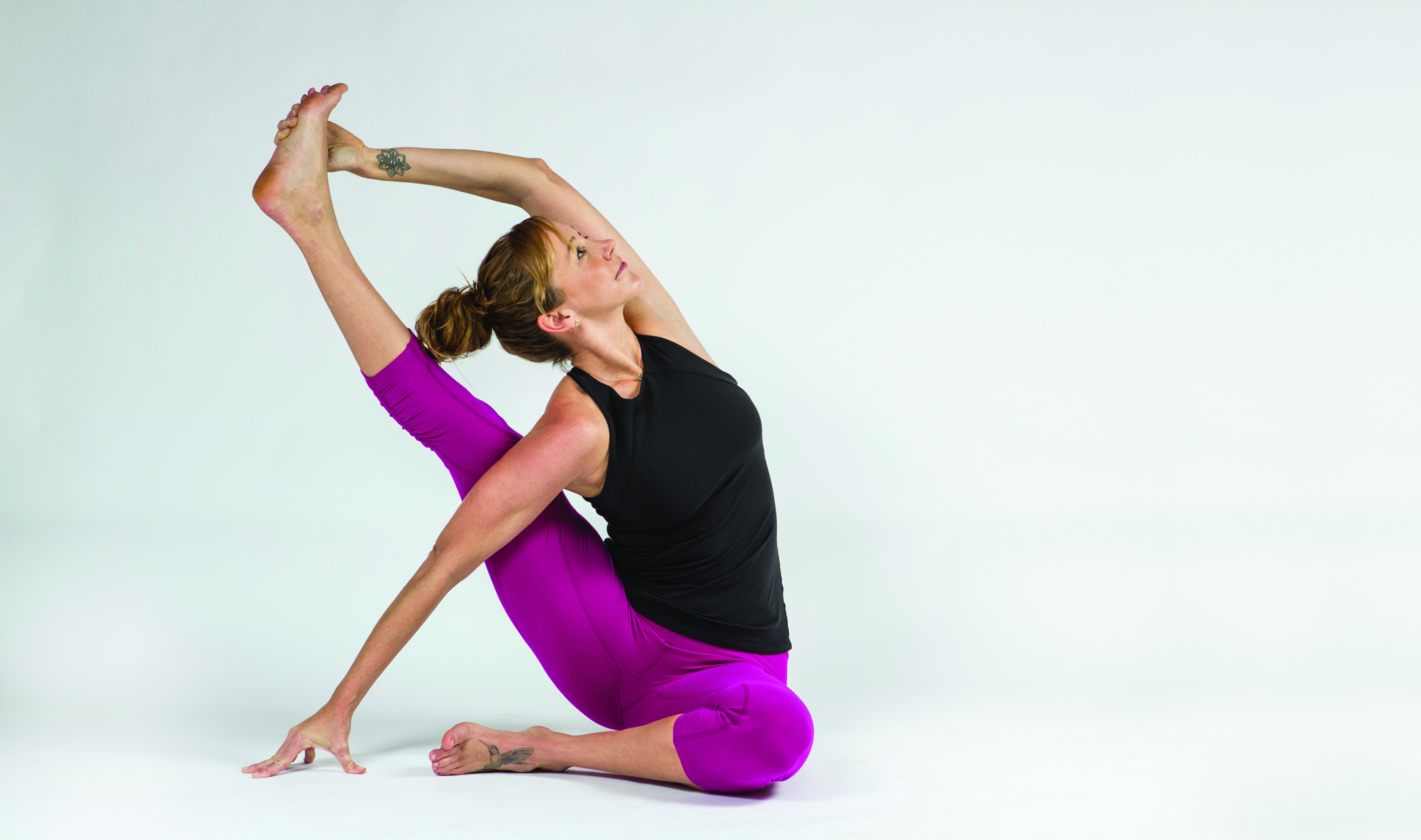COMPASS OR SUNDIAL POSE - Yoga Magazine