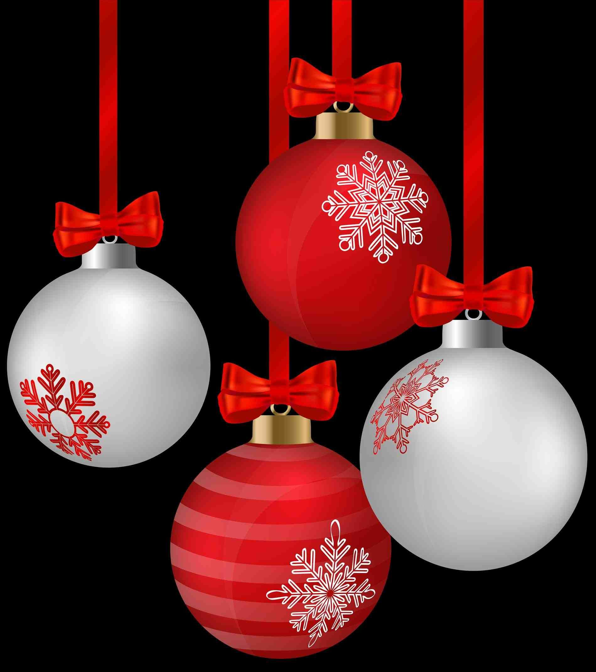 New Post hanging christmas ornament transparent background | Decors ...