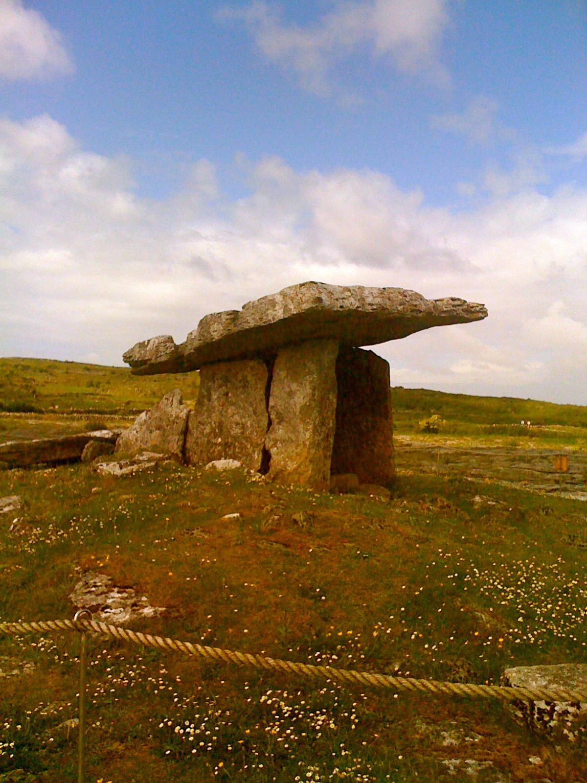 Poulnabrone Dolmen in the Burren, County Clare, Ireland. | Ireland ...