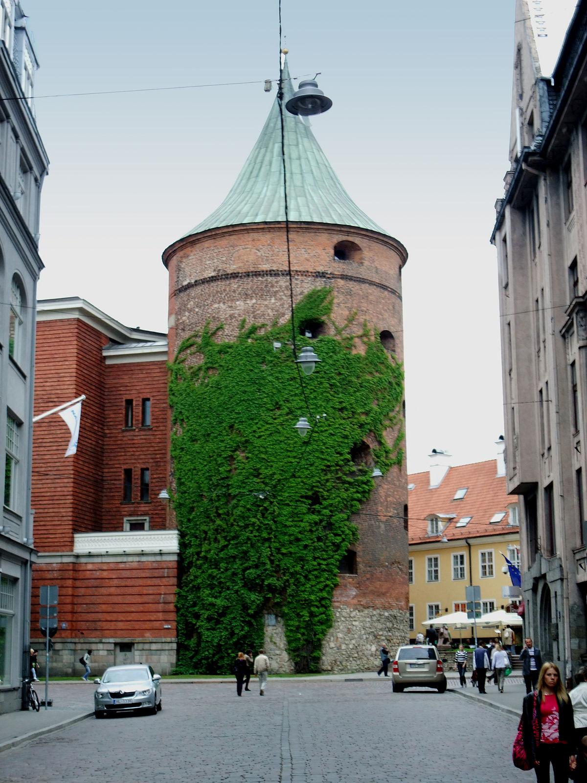 Powder Tower, Riga - Wikipedia