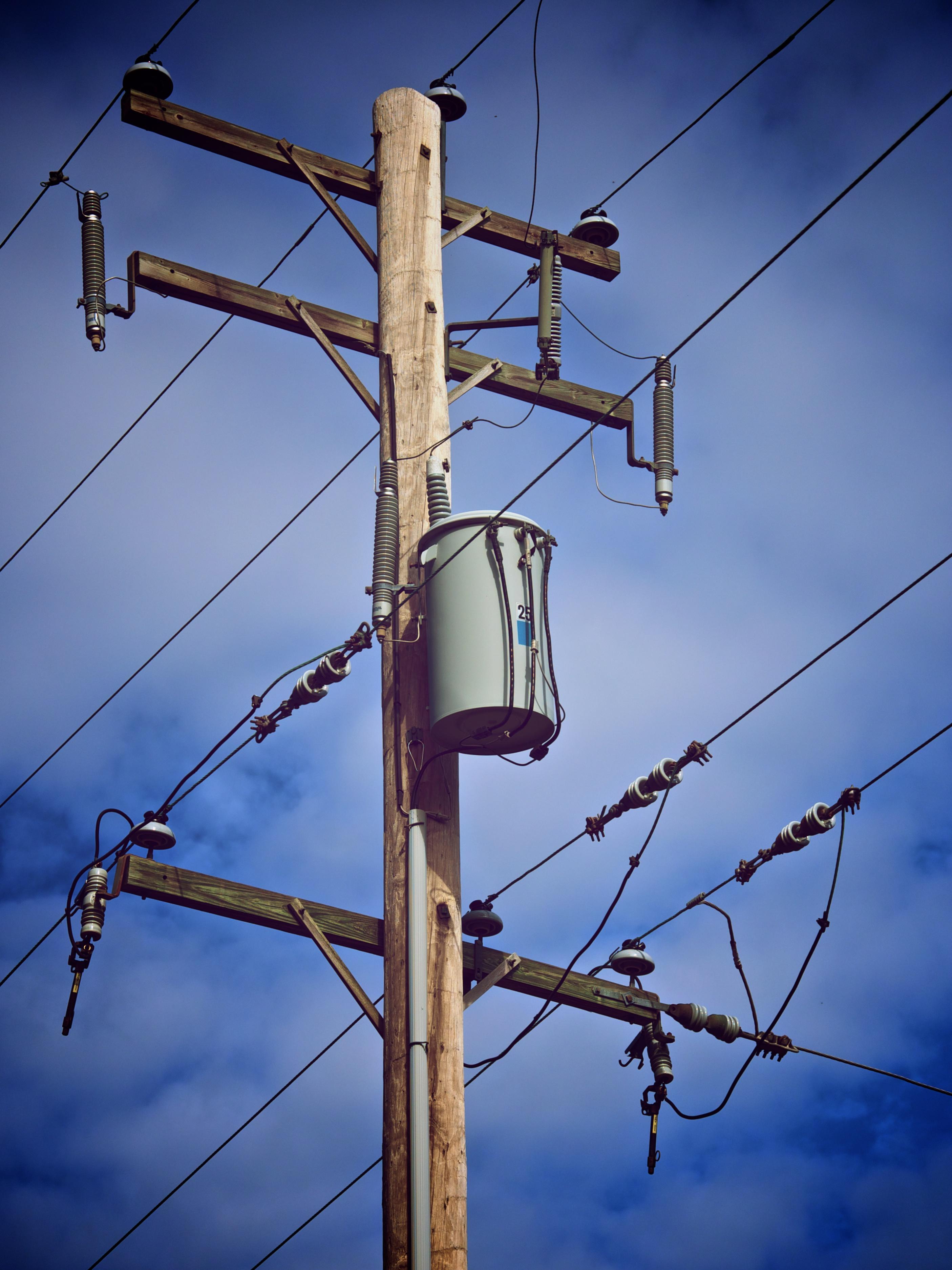 Power lines photo