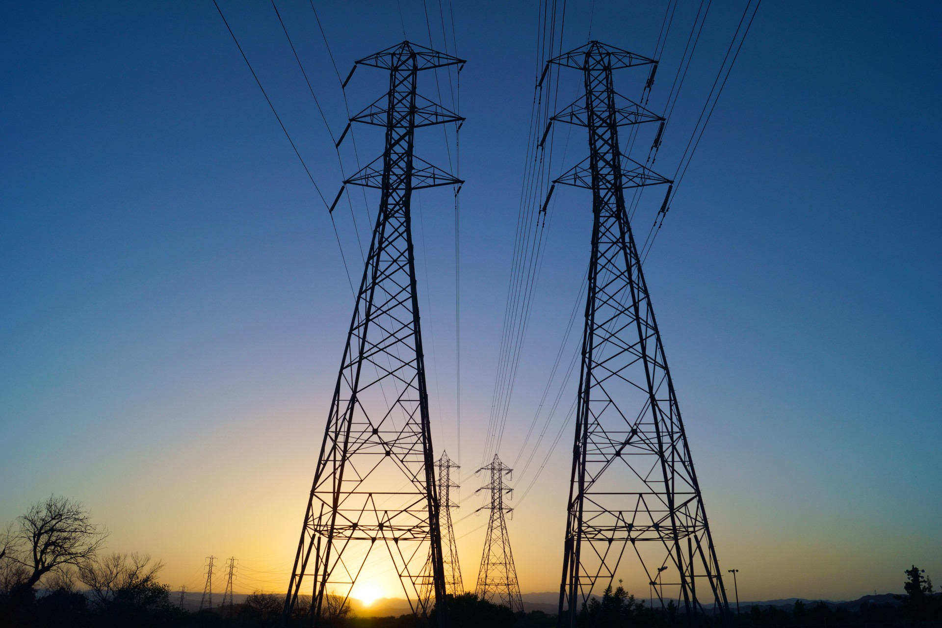 Electrical Power Lines Free Stock Photo - Public Domain Pictures