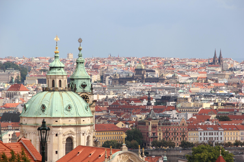 Prague, Republic, Retro, Praha, Panoramic, HQ Photo