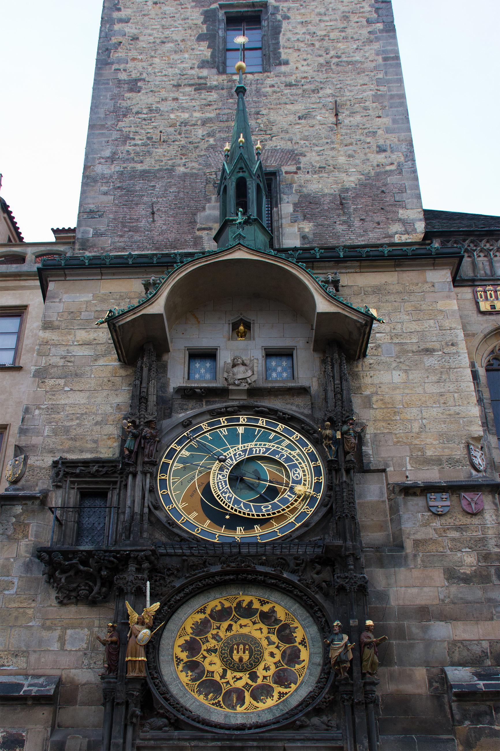 Prague Astronomical Clock, Ancient, Republic, History, Horoscope, HQ Photo