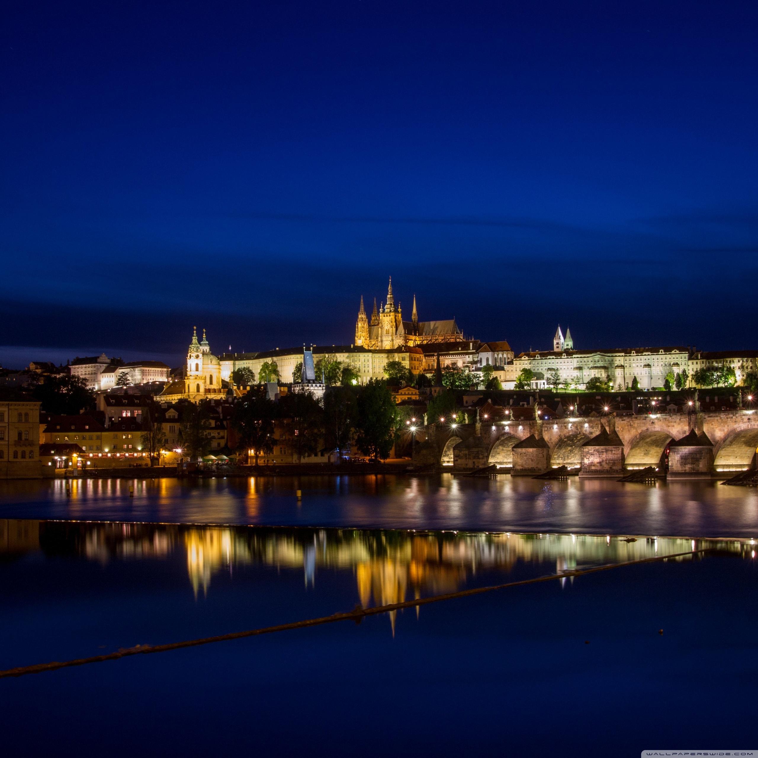 Prague by night, Czech Republic ❤ 4K HD Desktop Wallpaper for 4K ...