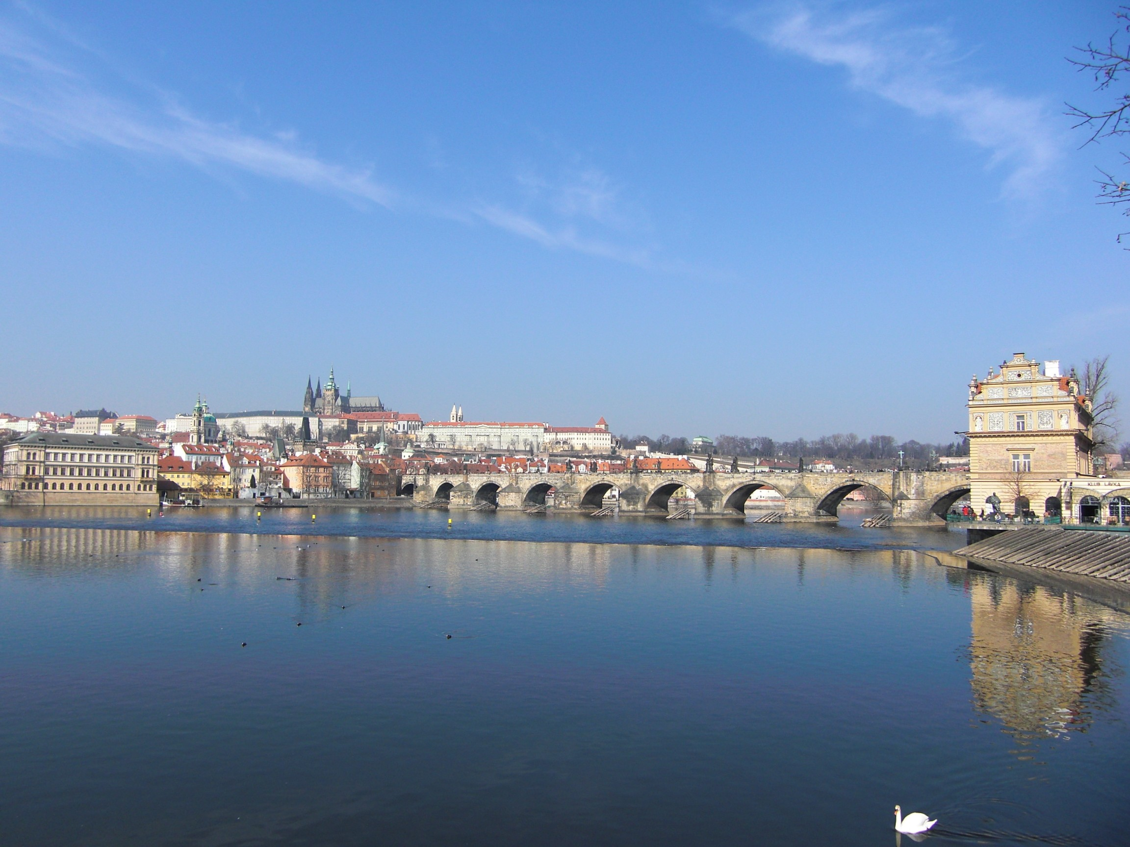 Prague Bridge, Prague, Bridge, HQ Photo