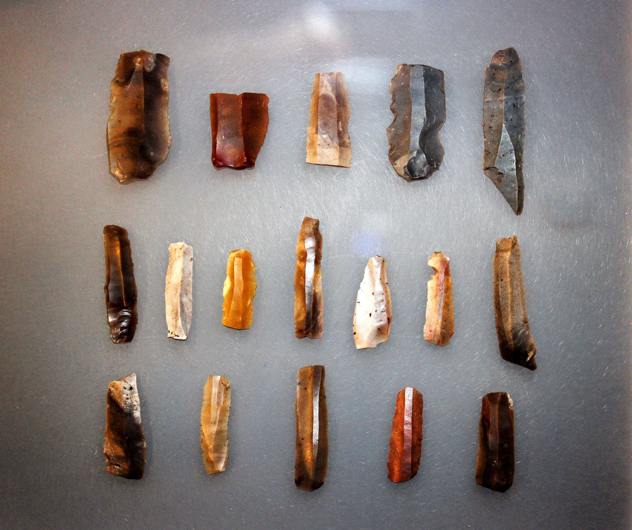 Primitive Tools - Neolithic Flint Blades, Ancient, Research, Locality, Man, HQ Photo