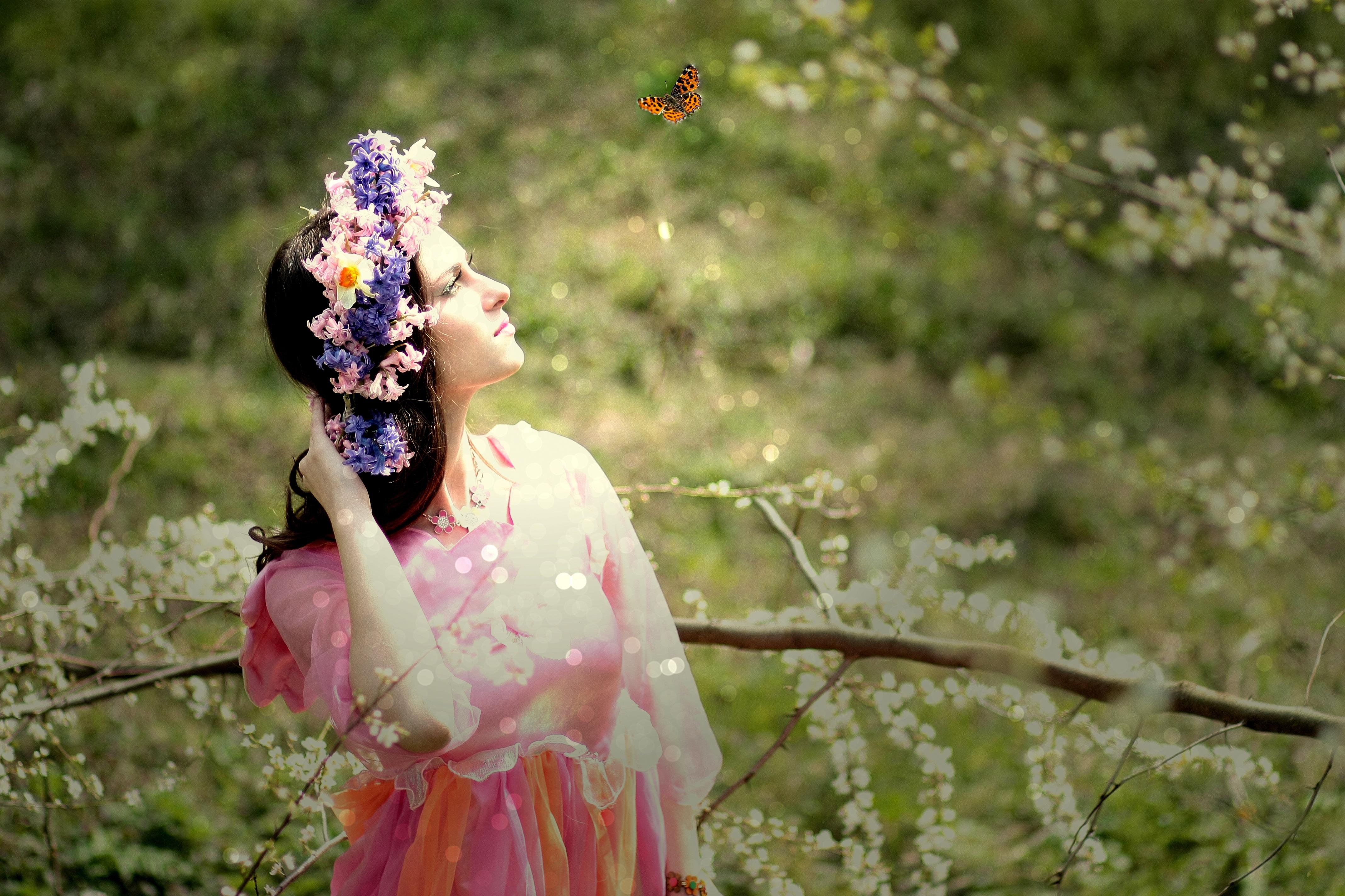 Princess, Beauty, Girl, Portrait, Pose, HQ Photo