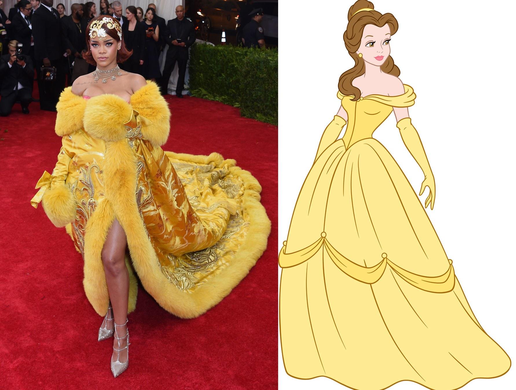 Is Rihanna Secretly a Disney Princess? - Vogue