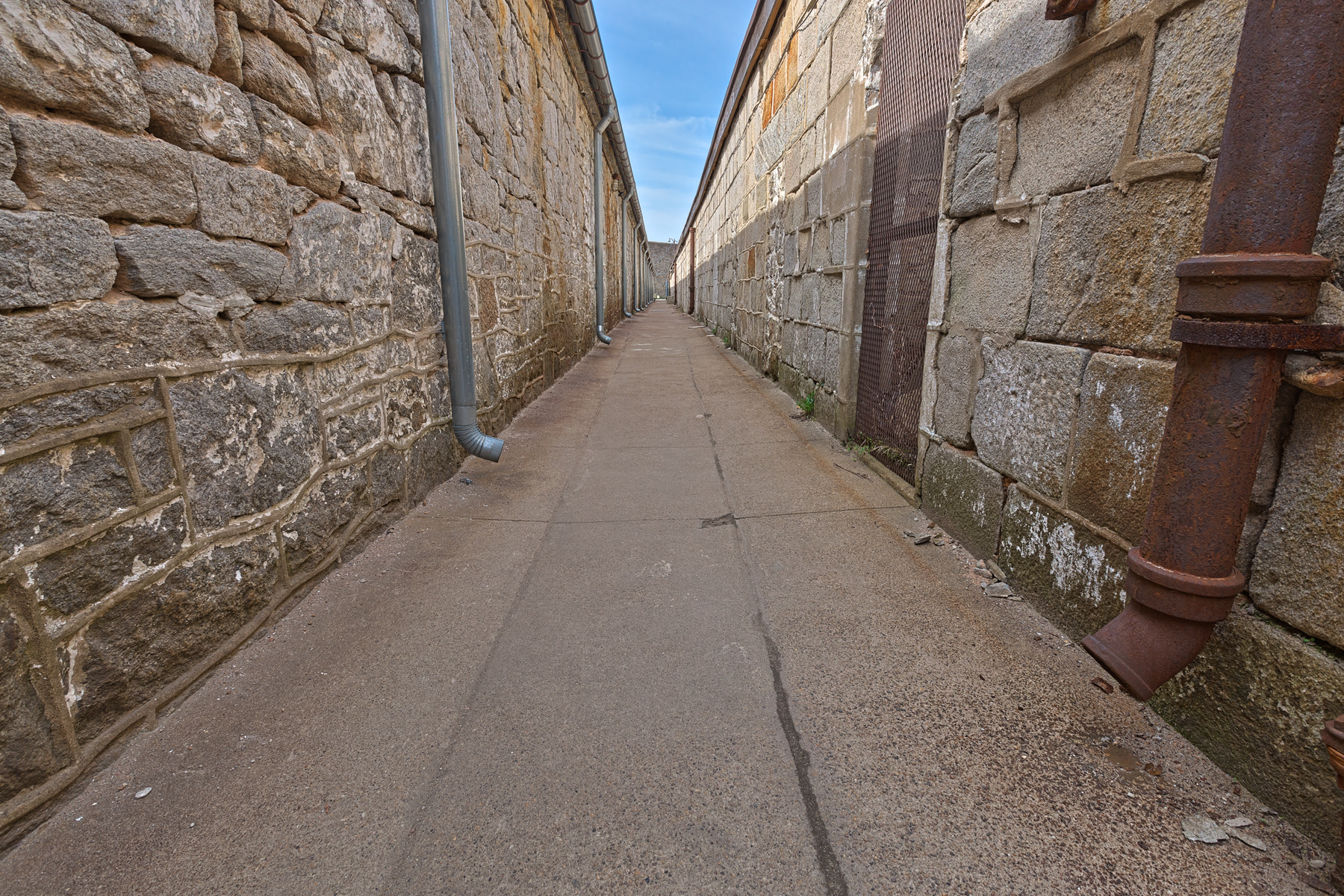 Prison alley - hdr photo