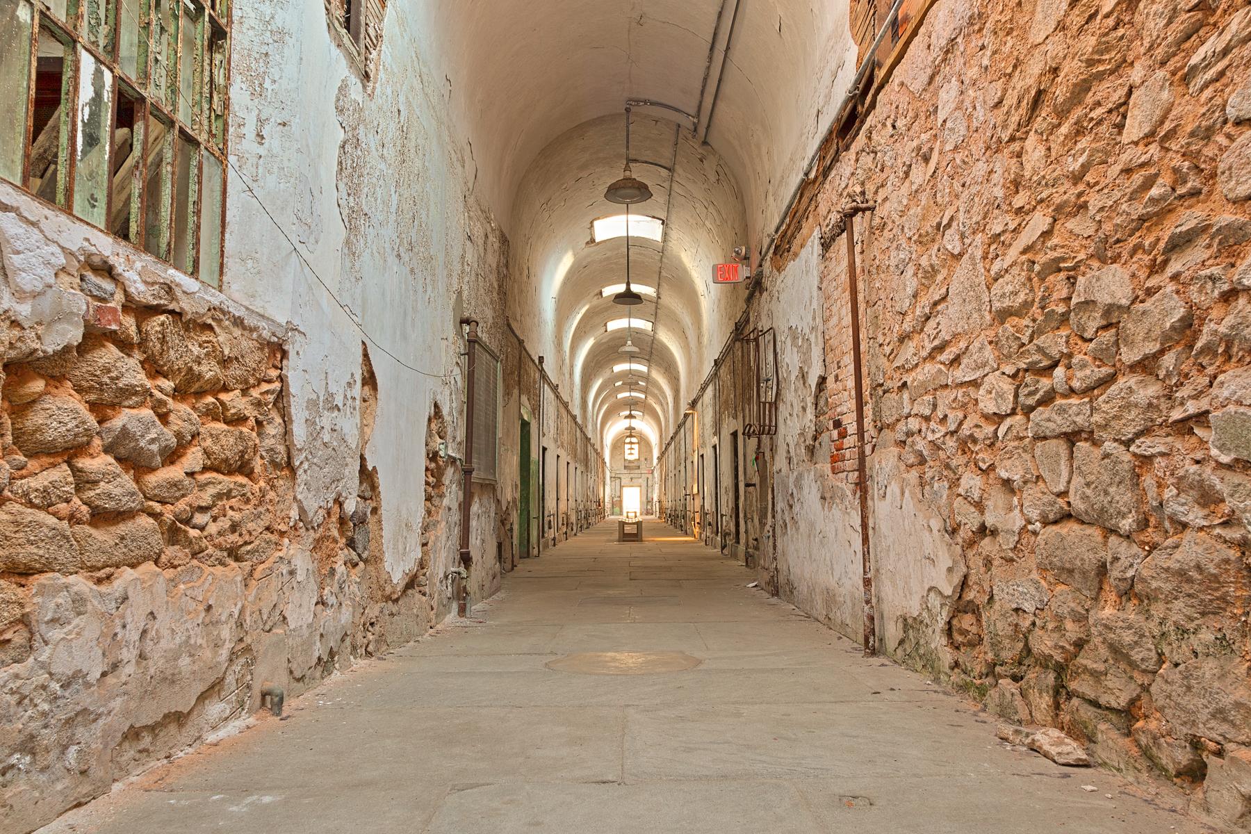 Prison corridor - hdr photo