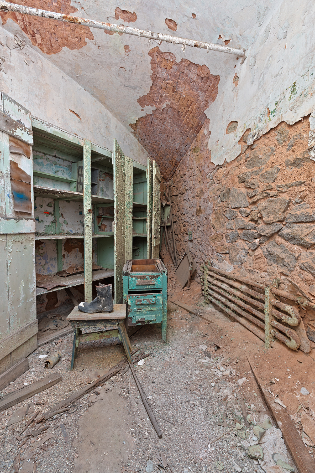 Prison Pantry Cell - HDR, Abandoned, Pennsylvania, Rusty, Rustic, HQ Photo