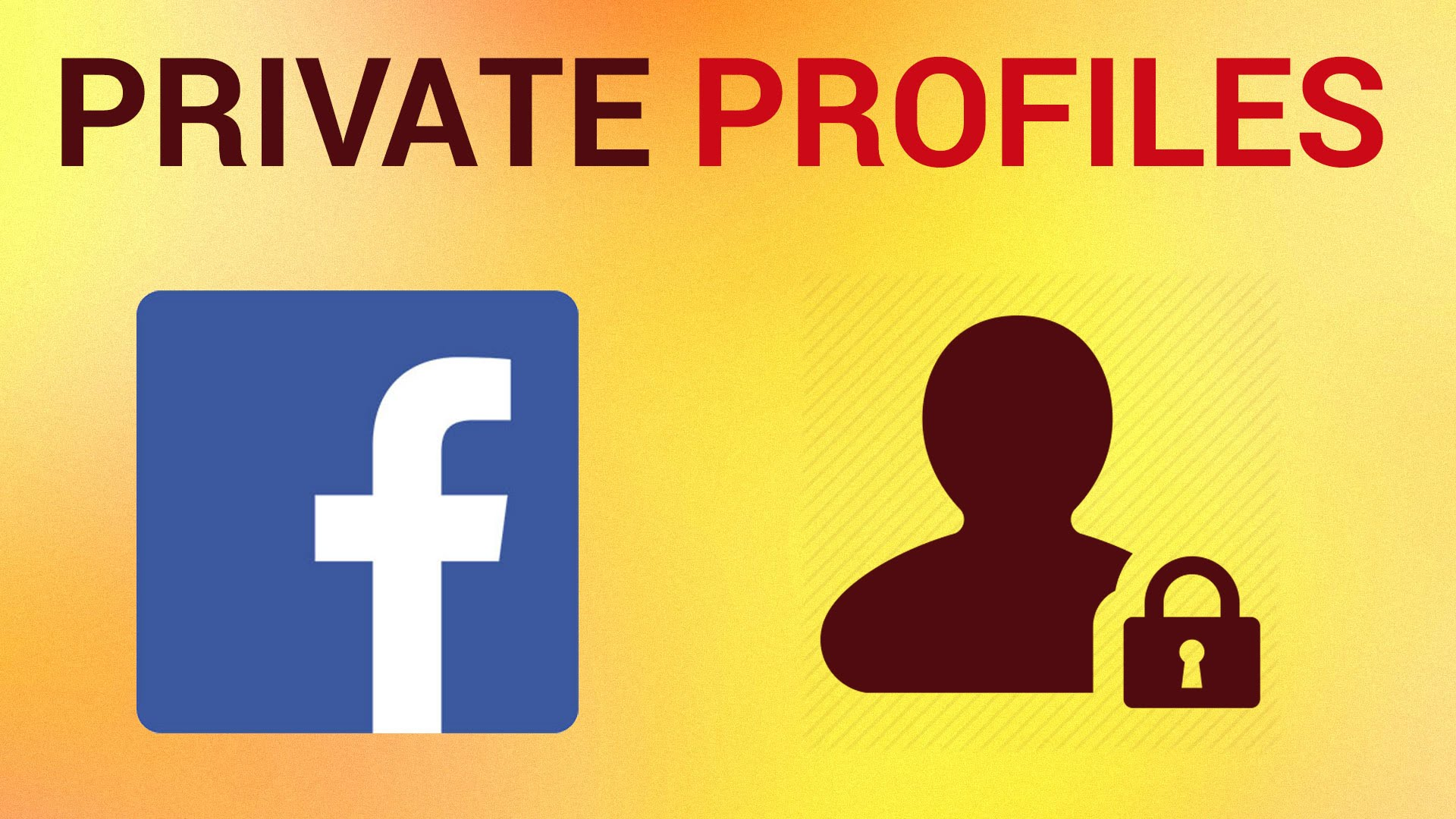How to Set your Facebook Profile to Private - YouTube