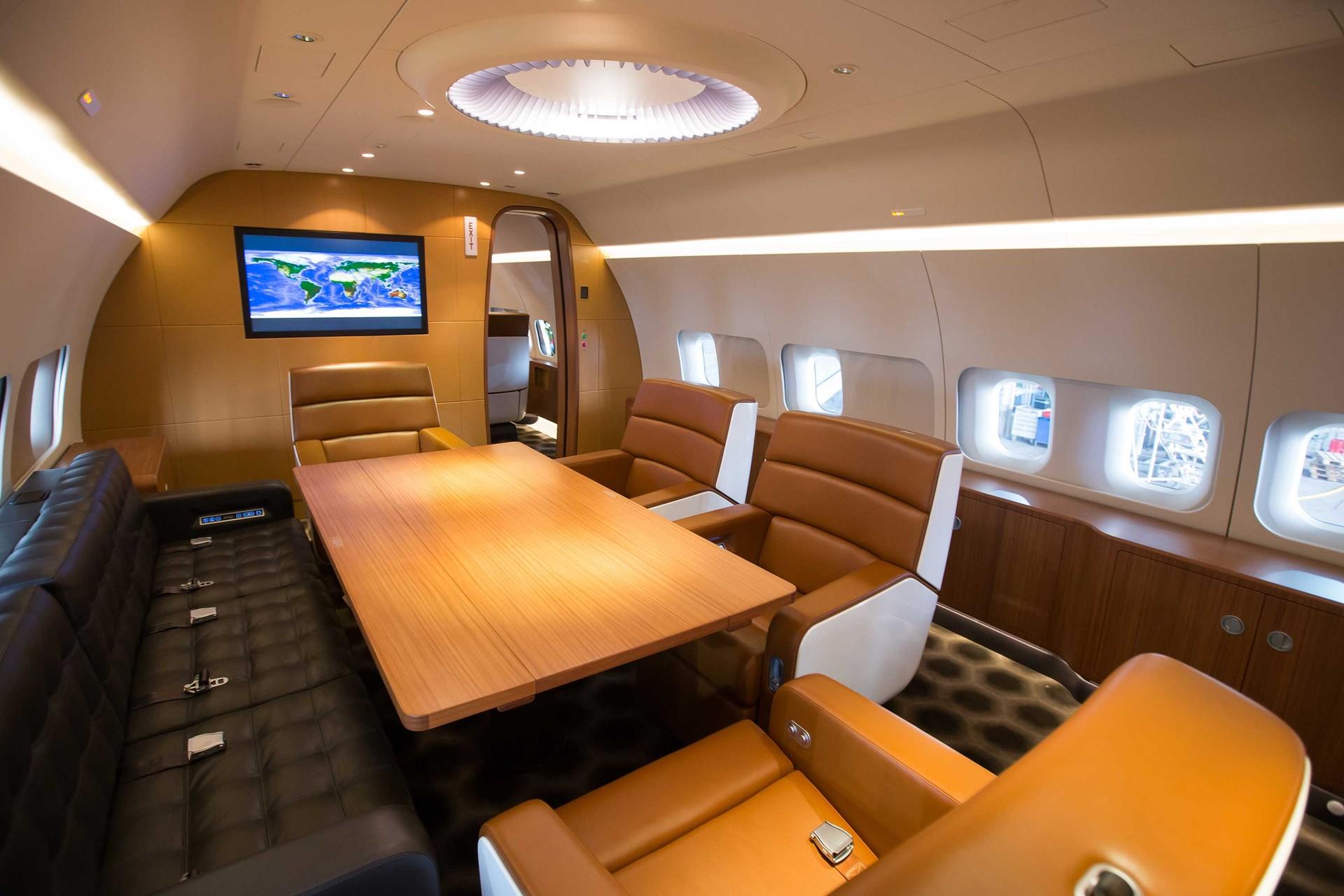 BBJ Private Aircraft Interior | Marc Newson Ltd