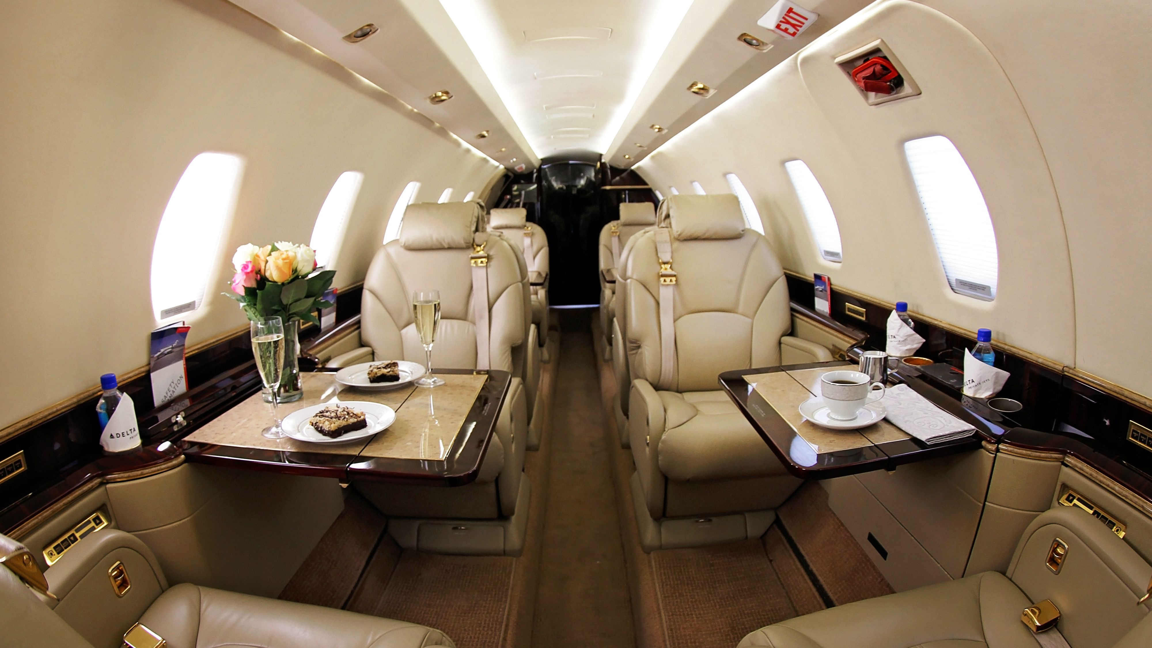 Delta Air Lines is offering private jets to frequent fliers for 2.5 ...