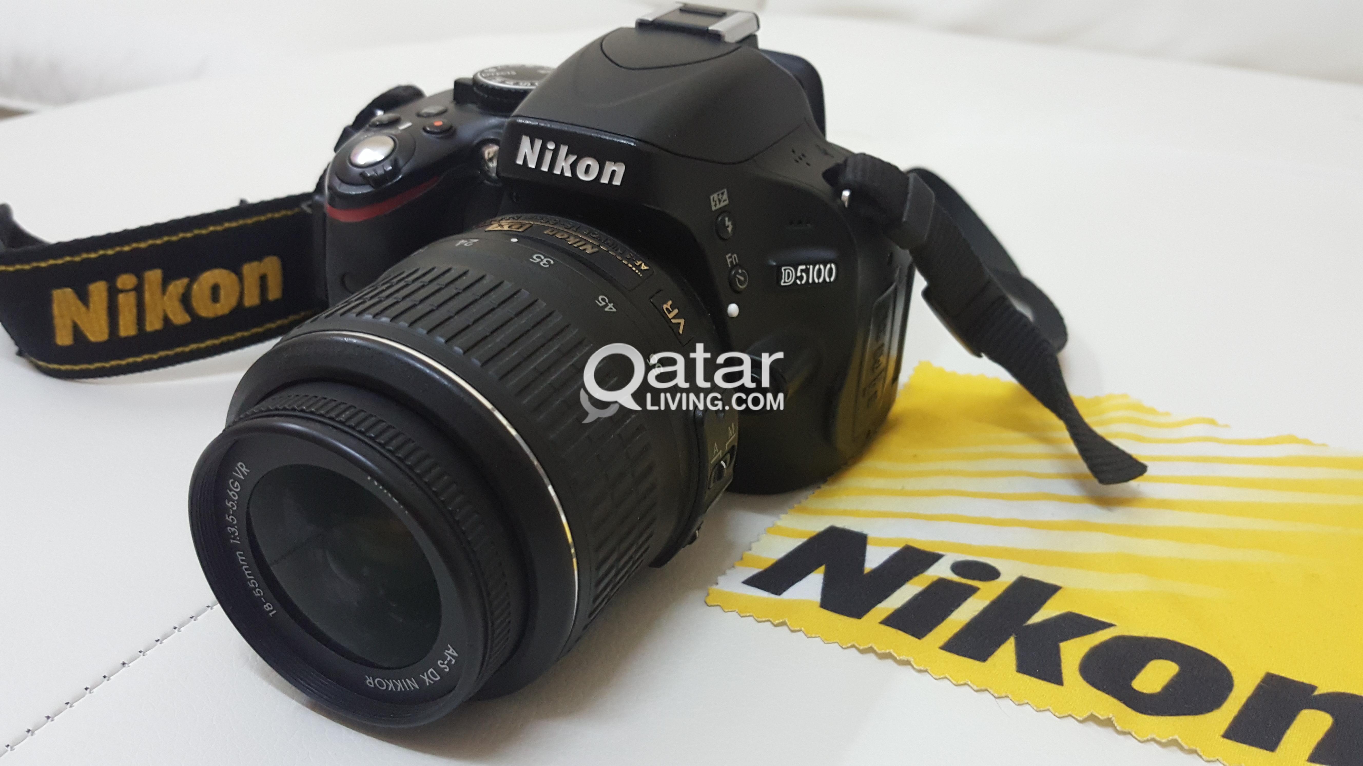Nikon D5100 Dslr professional camera | Qatar Living