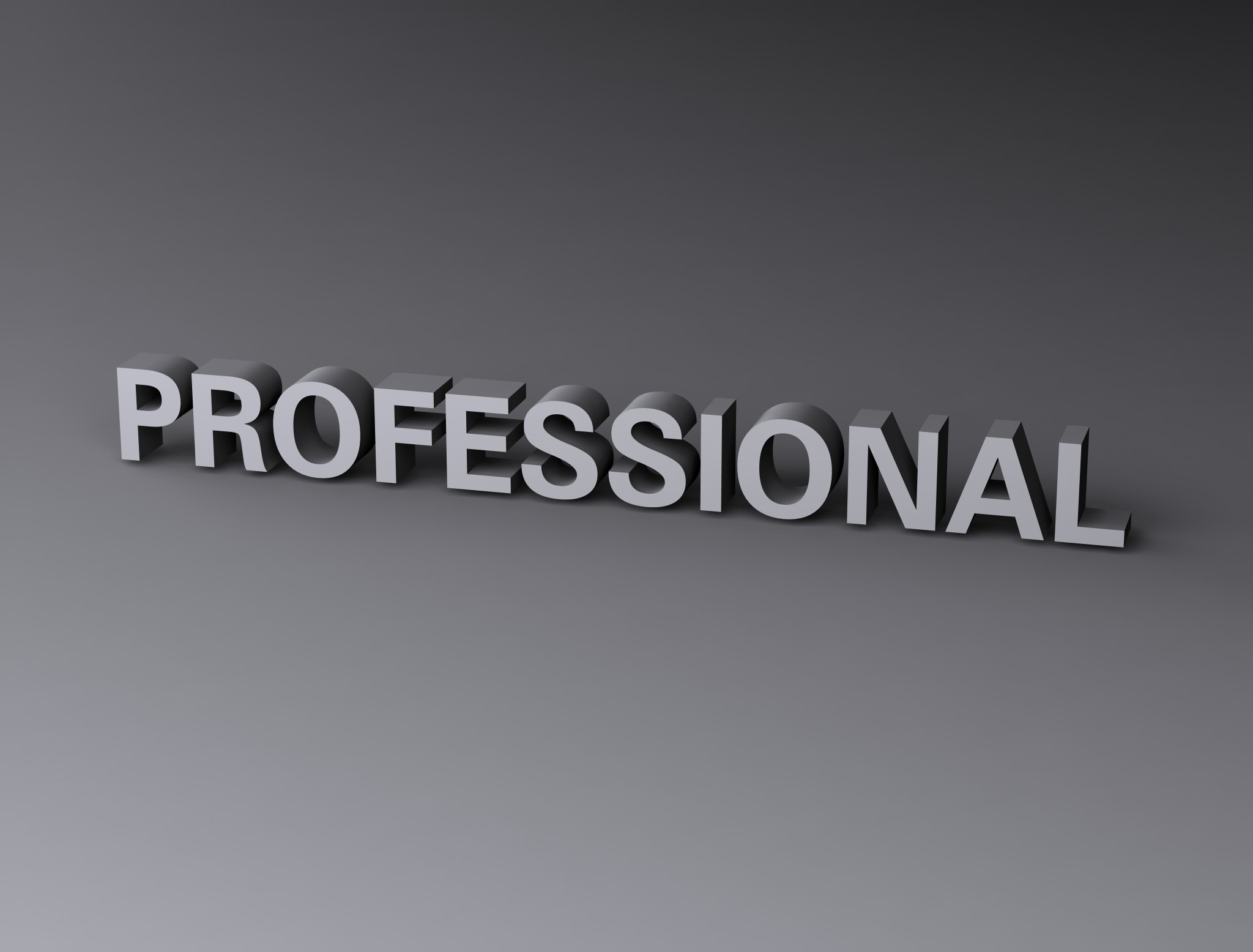 Professional, 3d, Render, Text, Typography, HQ Photo