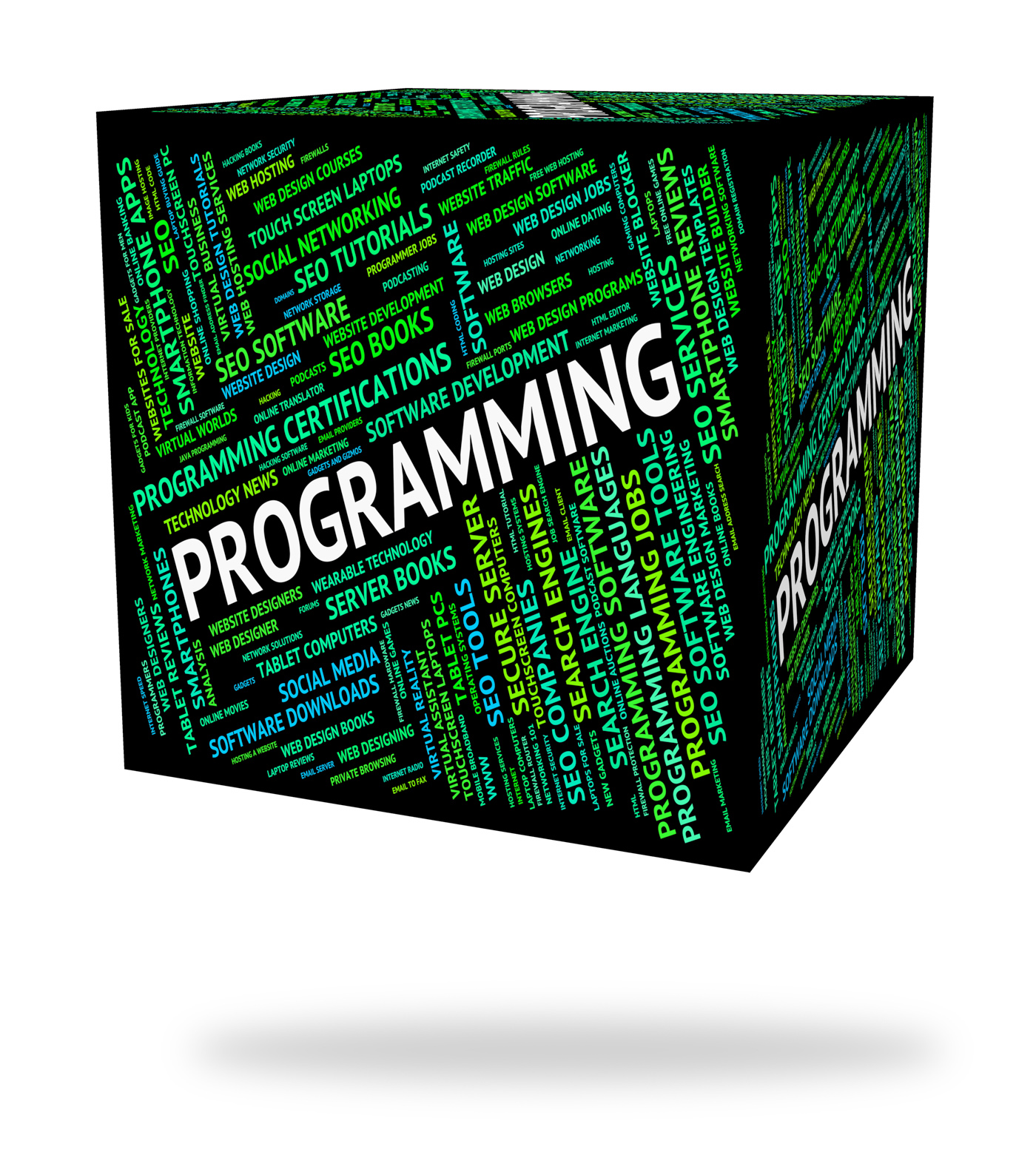 Programming Word Indicates Software Development And System, Application, Development, Program, Programmer, HQ Photo
