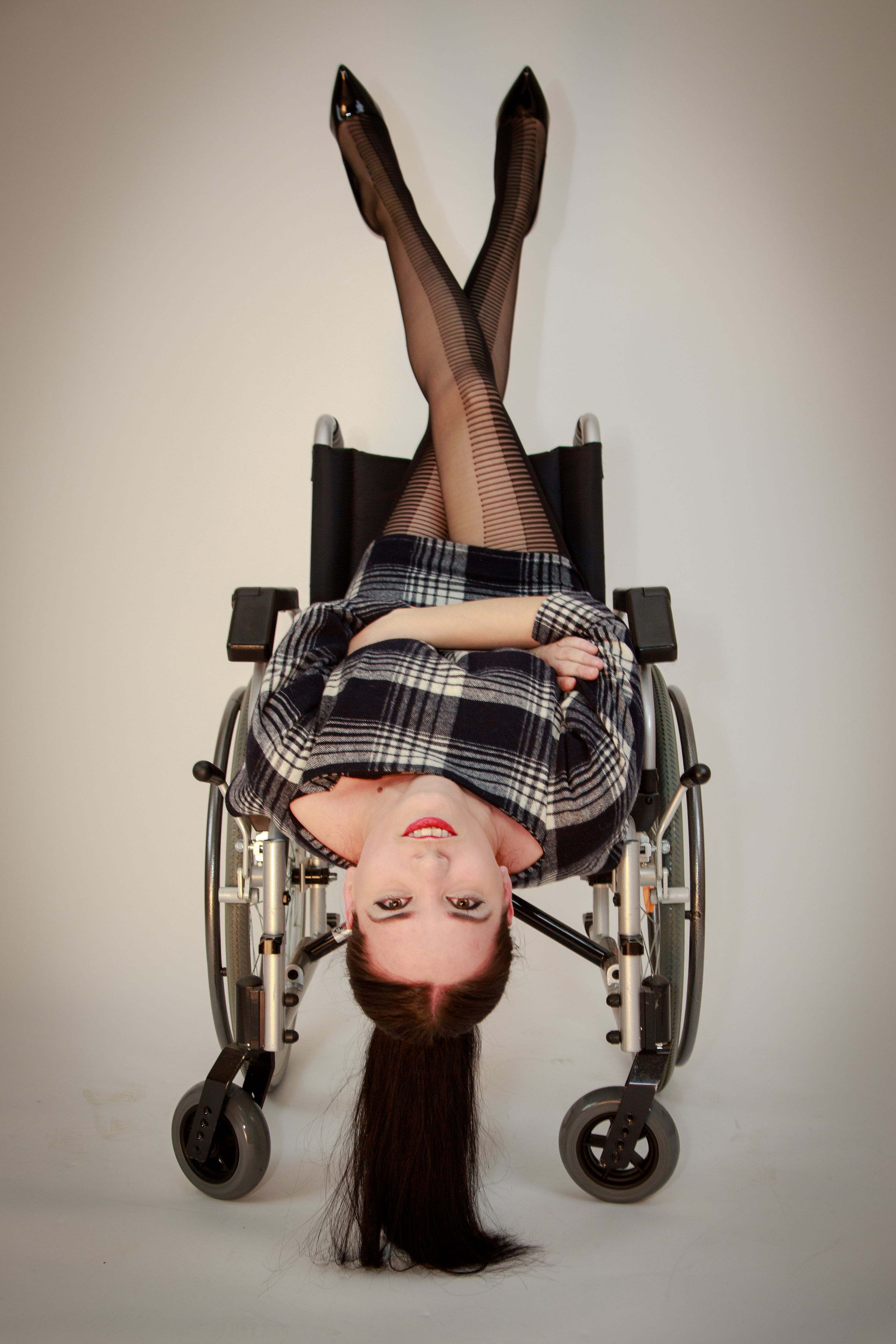 Project Wheelchair, Style, Sexy, Transport, Portrait, HQ Photo