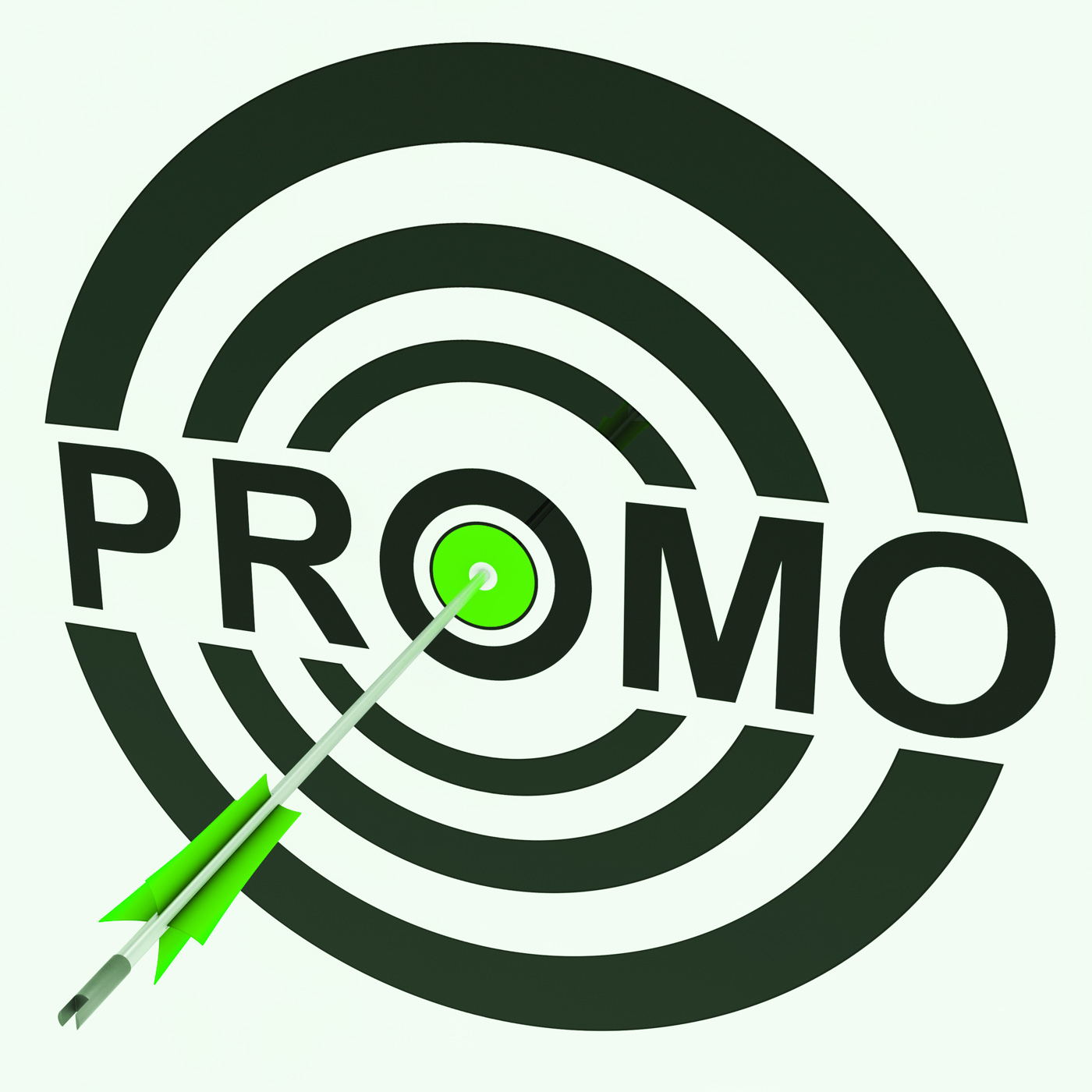 Promo target shows promoted shopping sale photo