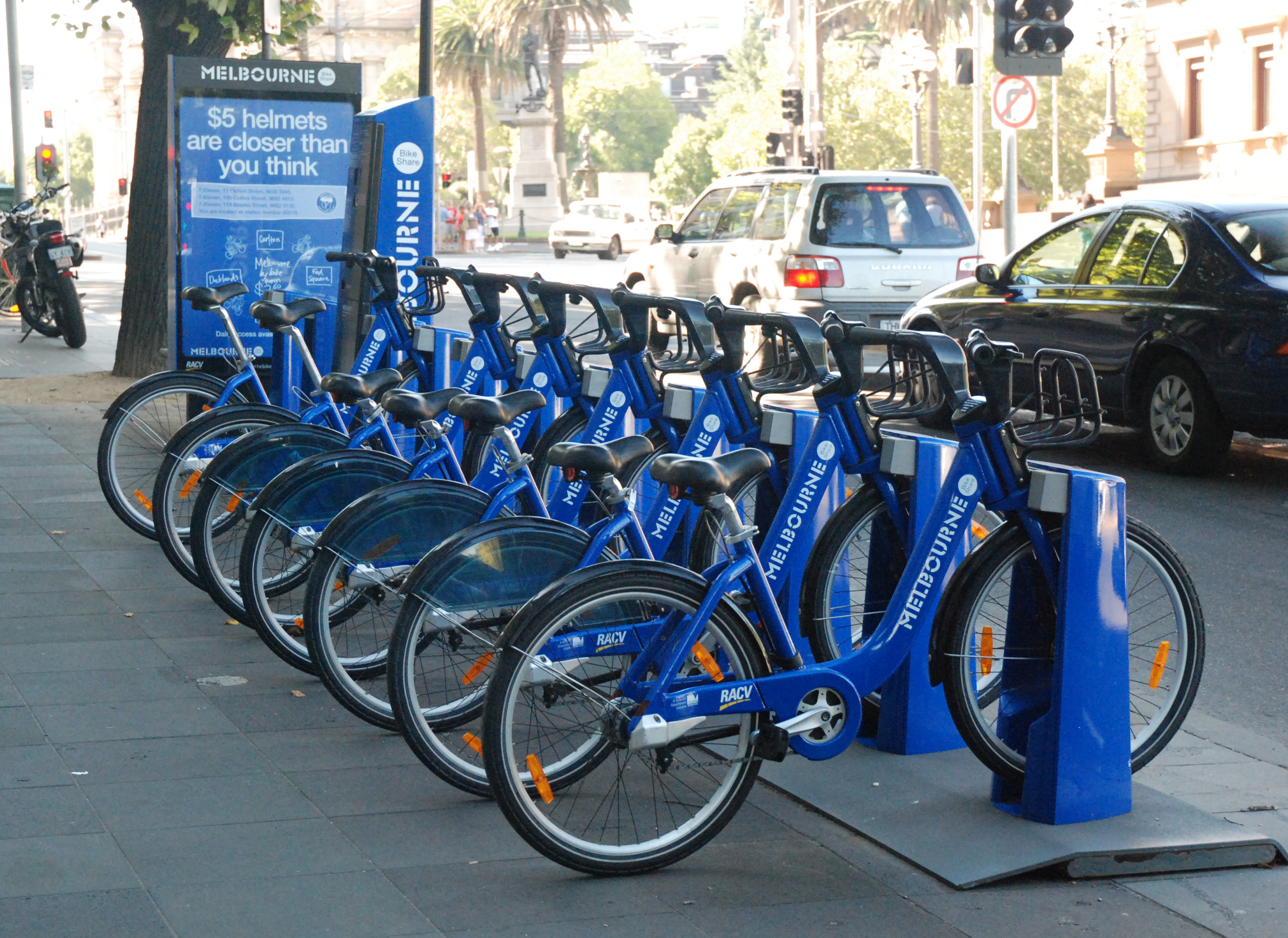 File:Melbourne City Bikes.JPG - Wikimedia Commons