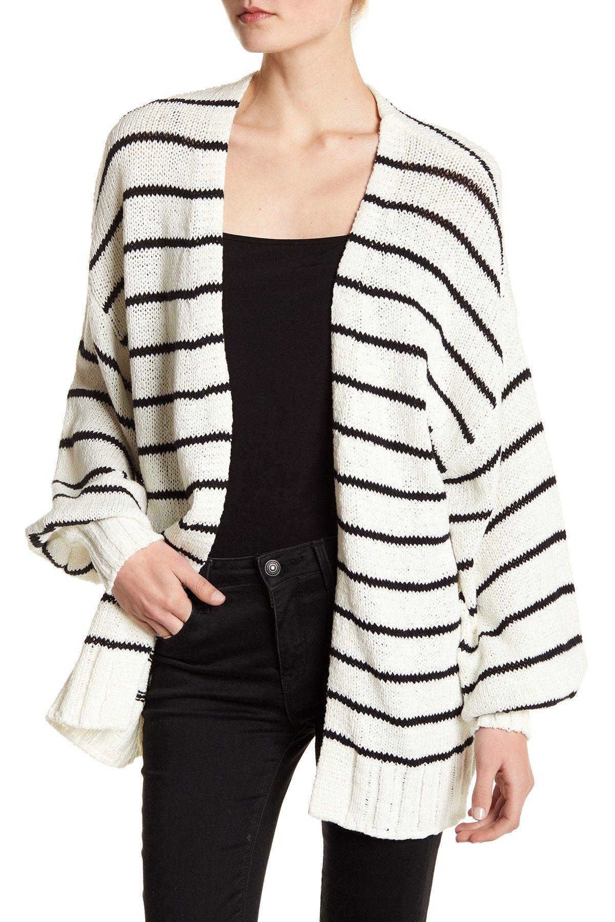 14th & Union   Puddle Sleeve Cardigan (Petite Sizing Available ...