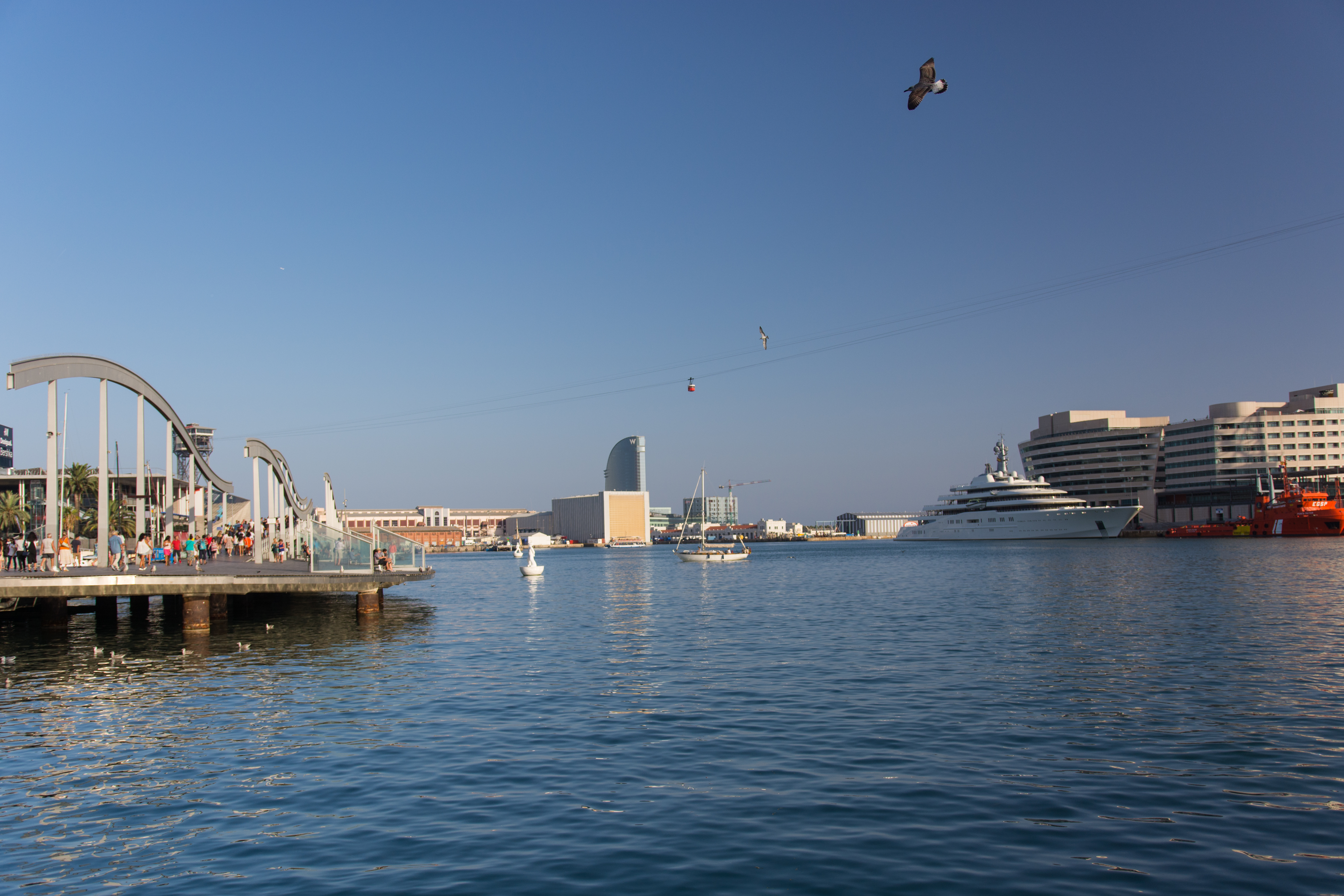 Puerto de barcelona photo