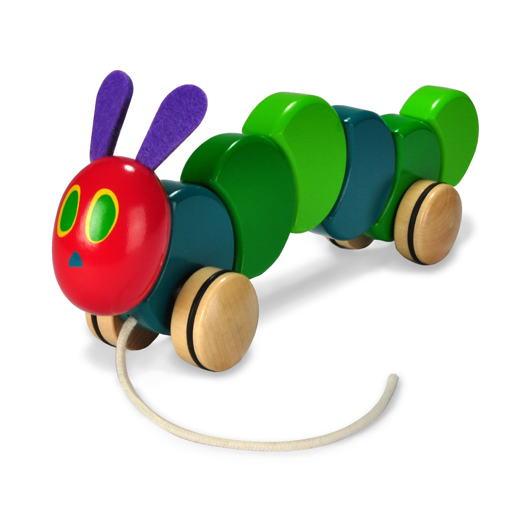 Eric Carle The Very Hungry Caterpillar Pull Toy
