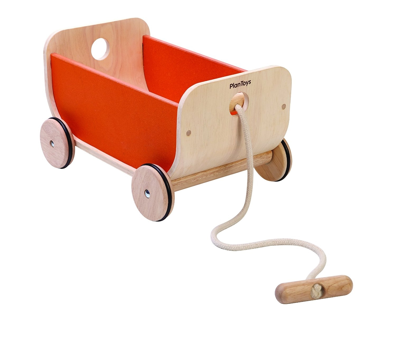 Toys Wagon Pull Toy Ride On Orange