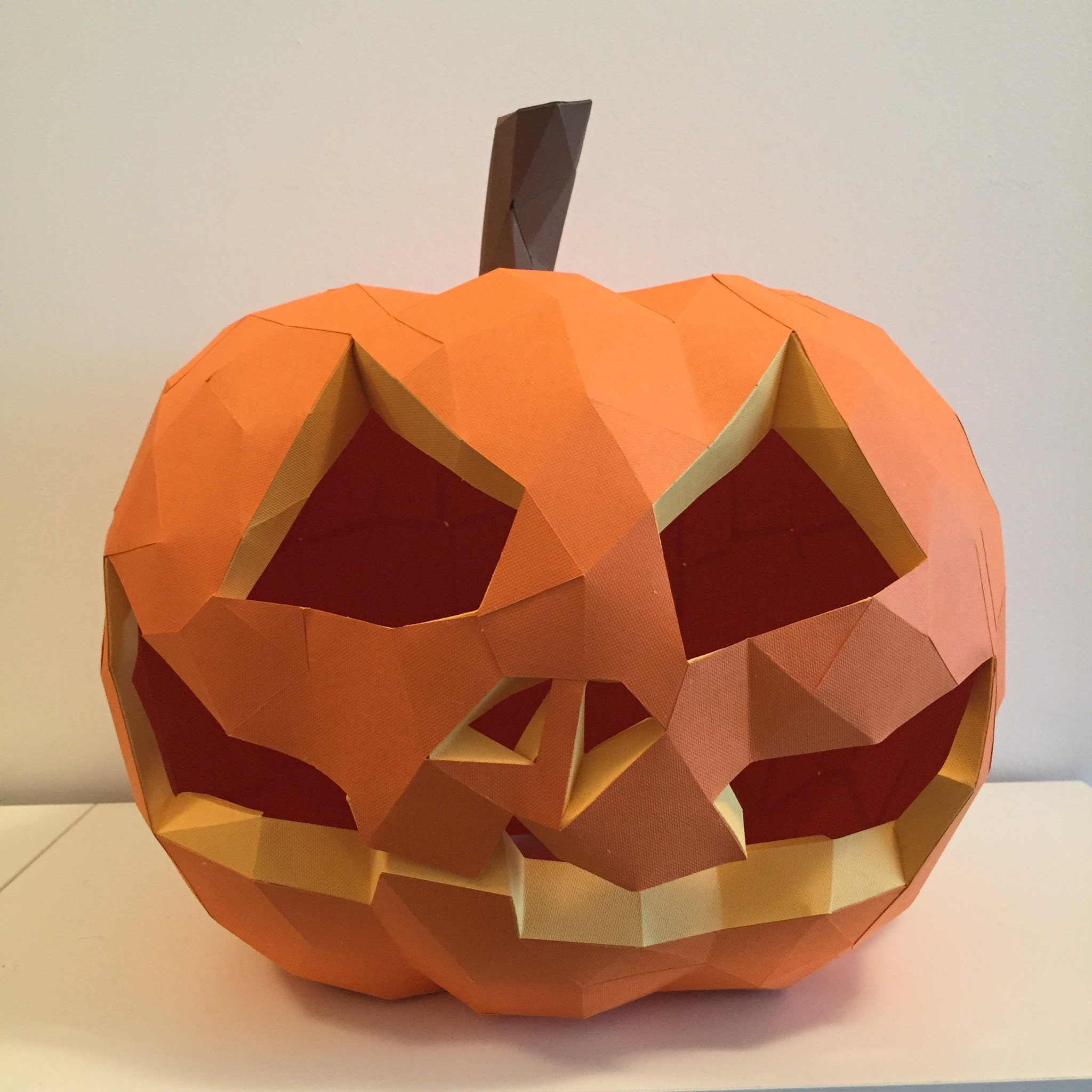 DIY Paper Pumpkin Kit – Low Poly Crafts