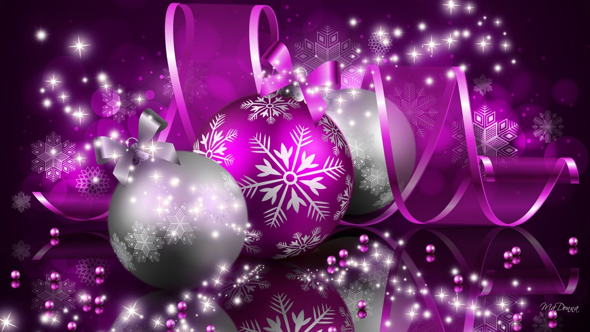 free photo purple christmas decoration merry ornament light