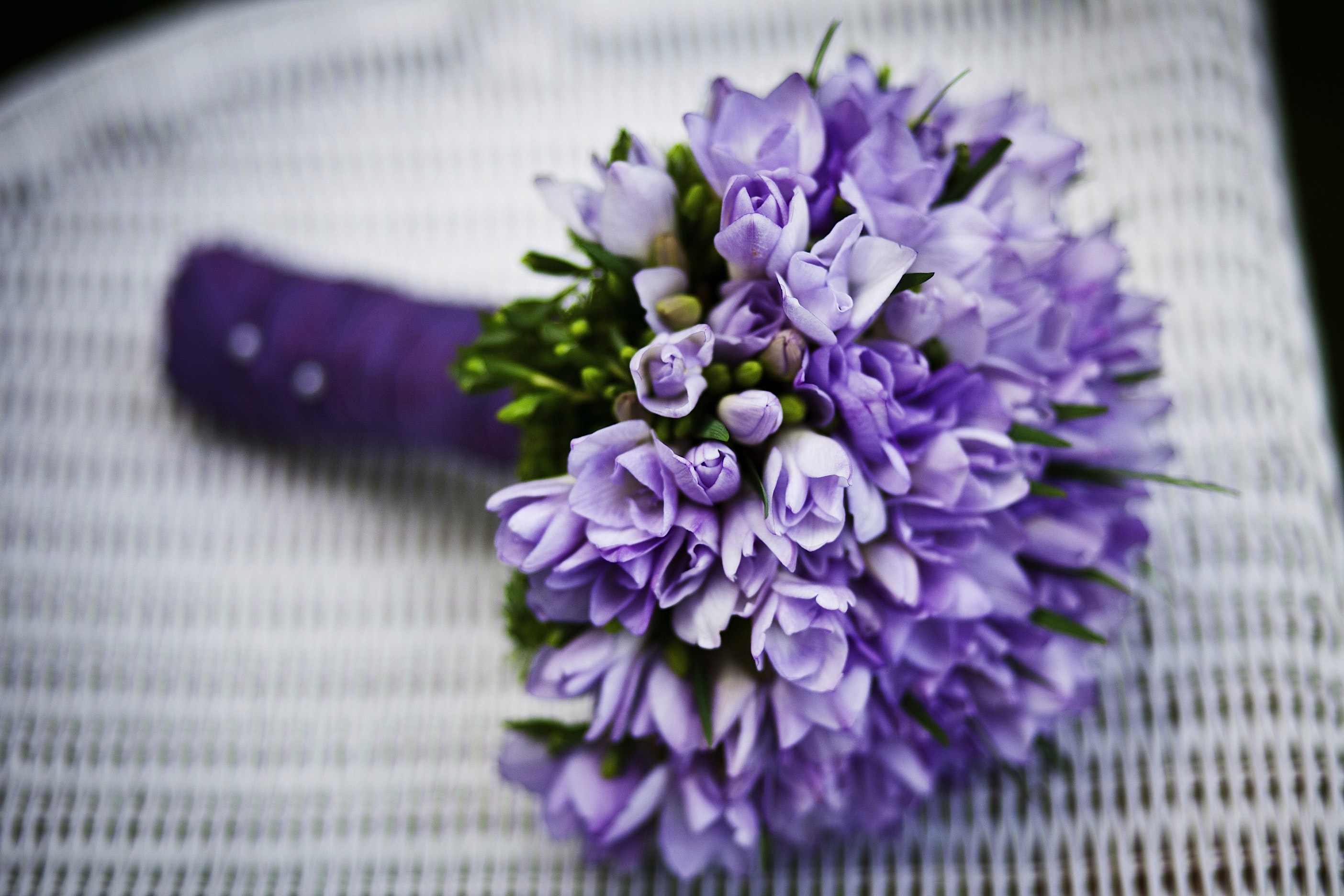 Free photo purple flower bouquet on white woven chair flowers purple flower bouquet on white woven chair flowers purple flora close mightylinksfo