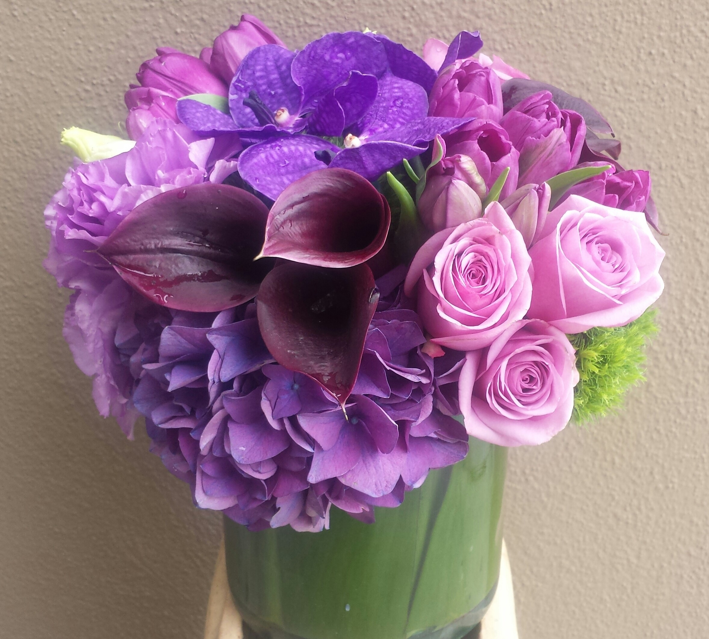Purple Lover in Beverly Hills, CA | Apropos Floral & Event Design