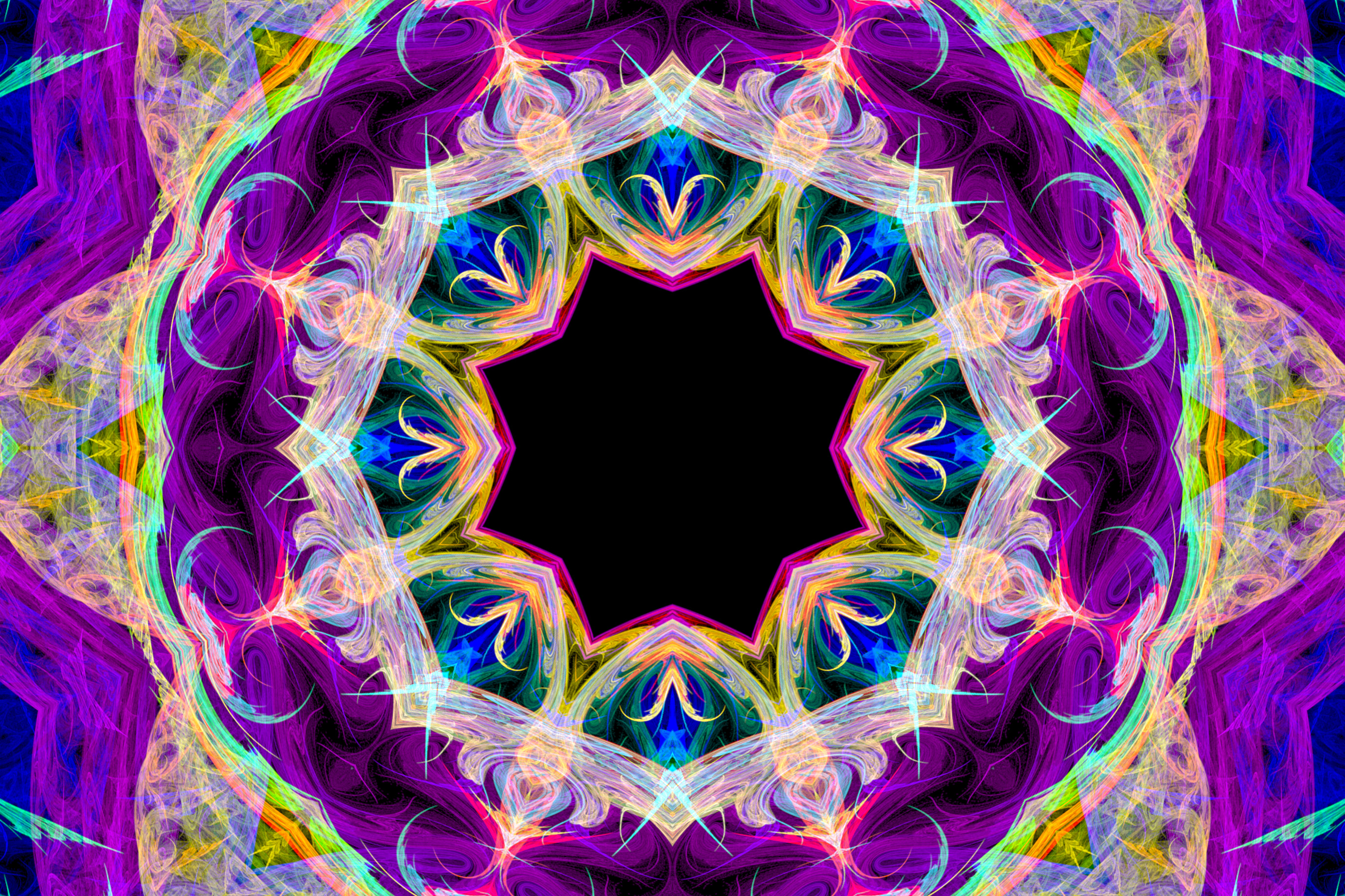 purple kaleidoscope, purple kaleidoscope