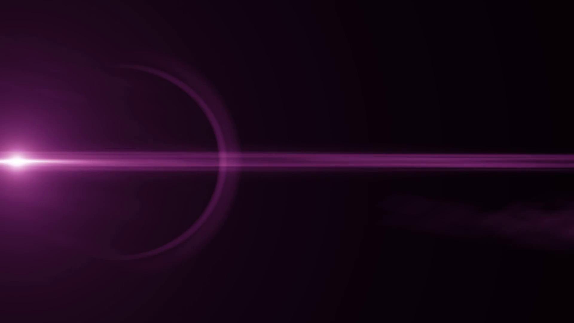 Purple lens flare photo