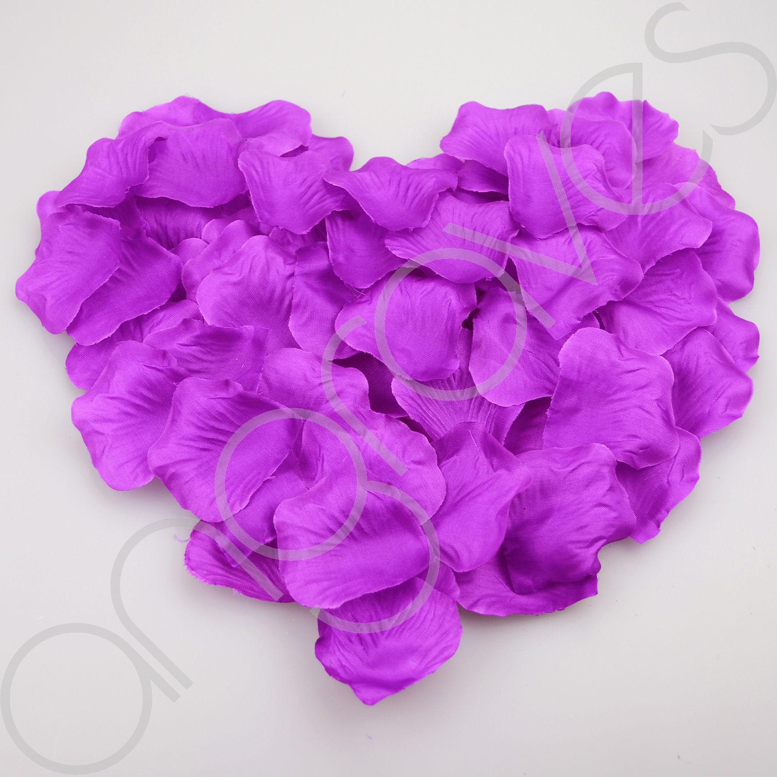 1000 Silk Rose Petal Flower Confetti Engagement Celebration Wedding ...