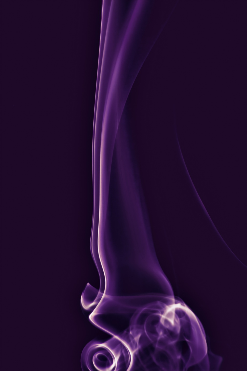 Purple smoke, Abstract, Black, Burn, Color, HQ Photo