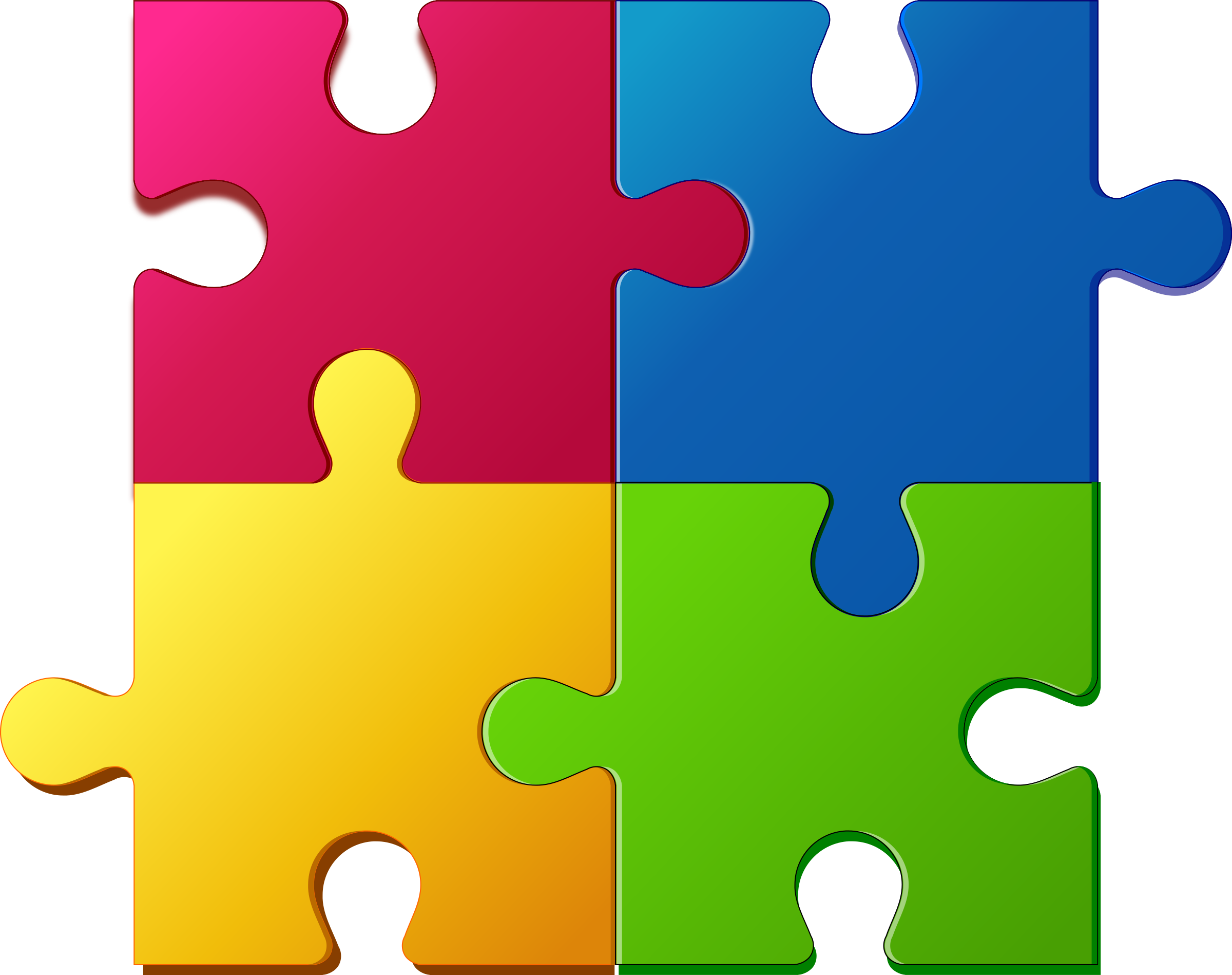 Clipart - Jigsaw-puzzle