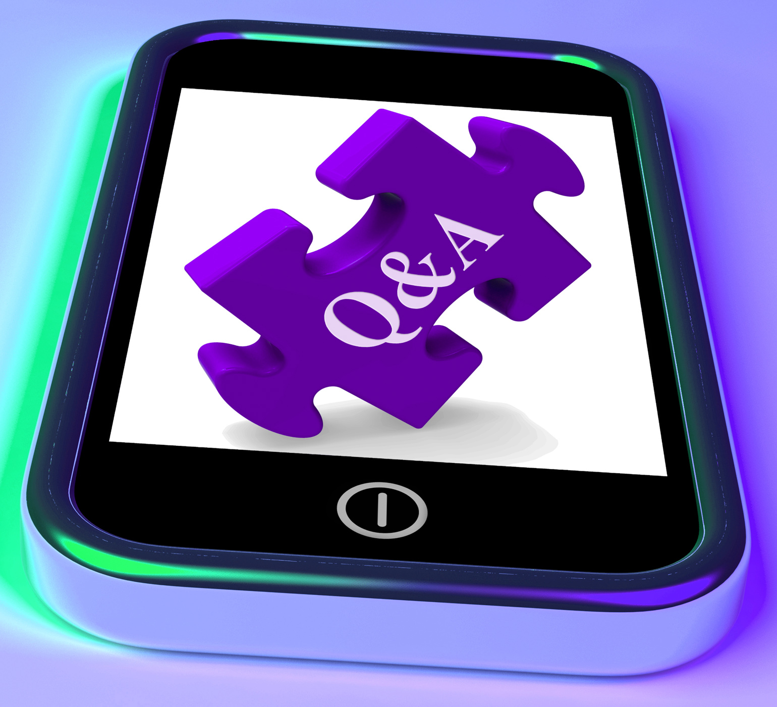 Qa puzzle on mobile phone shows questions and answers, Answer, Answers, Exam, Exams, HQ Photo