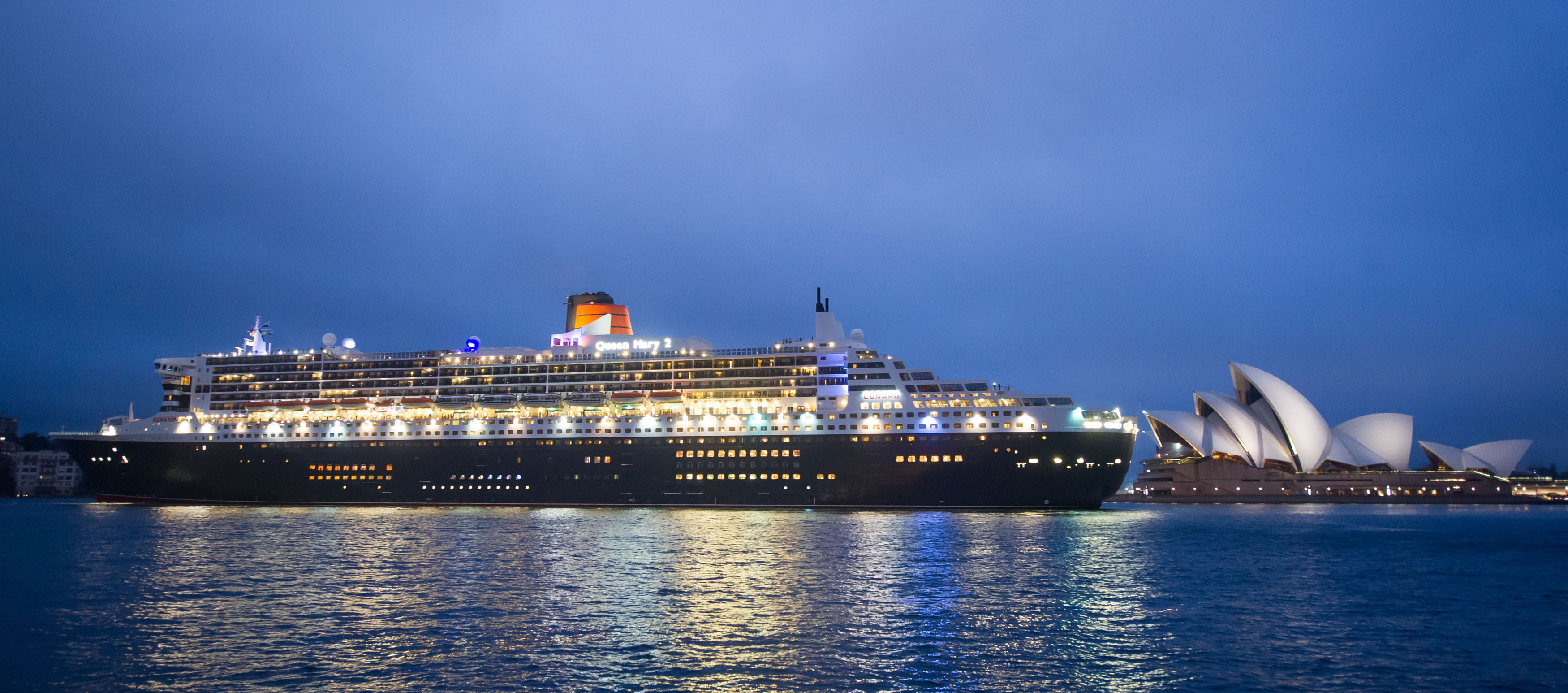 Queen Mary 2 celebrates 10th anniversary in Sydney