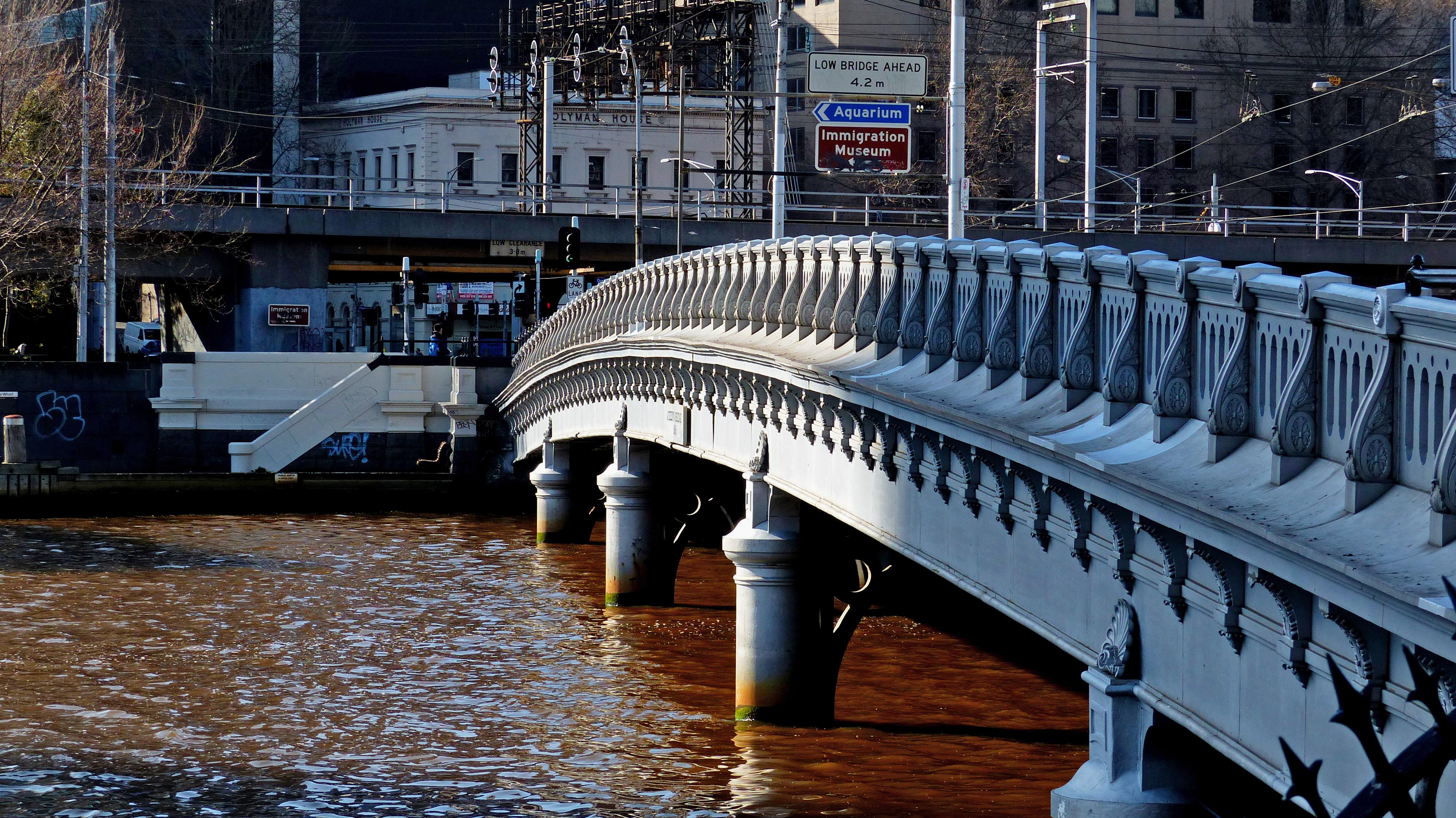 Queens Bridge. Melbourne.Aust., Bridges, Building, Cityscape, Free photos, HQ Photo