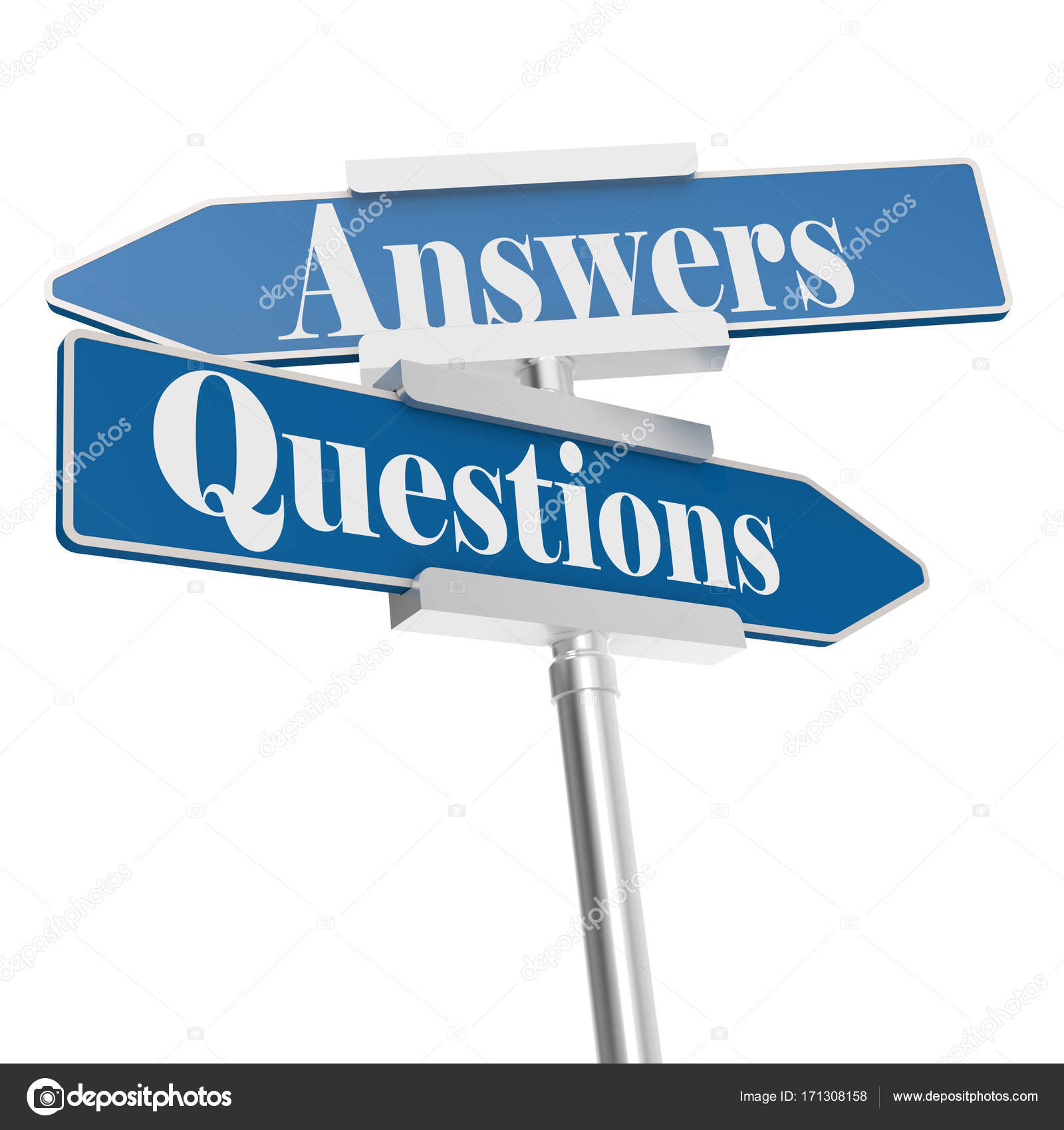 Questions and answers signs — Stock Photo © tang90246 #171308158