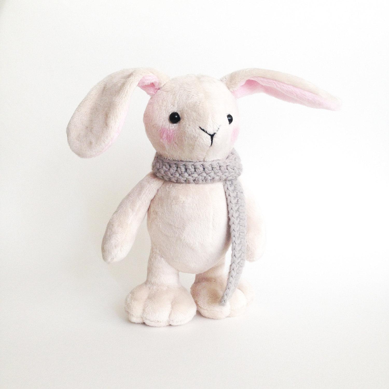 Plush bunny toy Cute stuffed animal bunny rabbit Bunny
