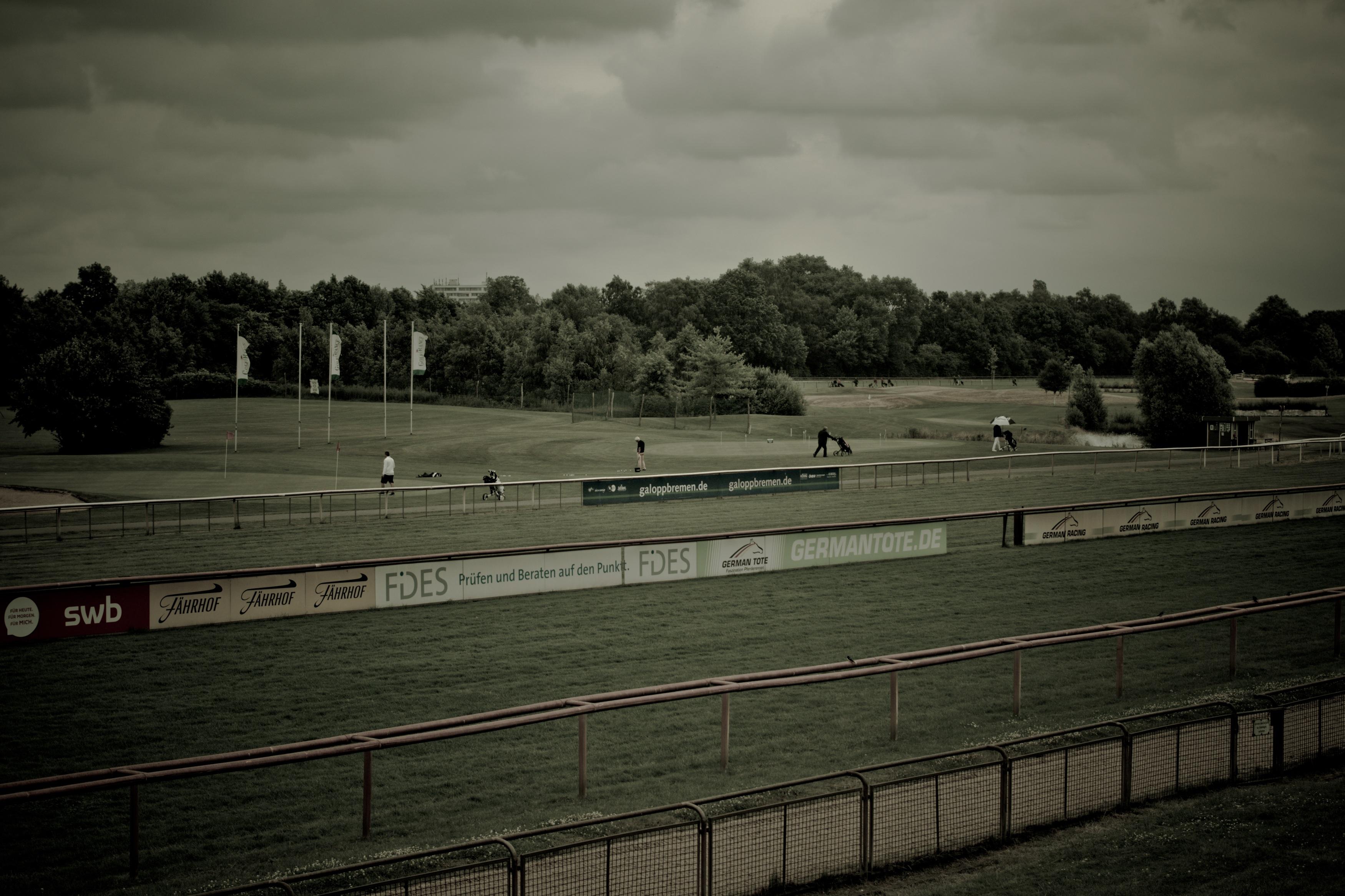 Race Course, Course, Farm, Horse, Place, HQ Photo