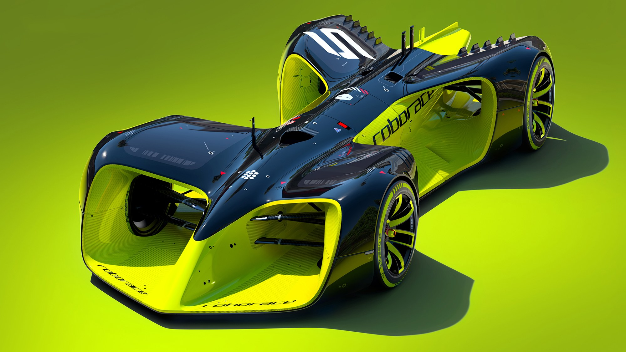 The Roborace's Self-Driving Race Car Is Every Kind of Absurd | WIRED