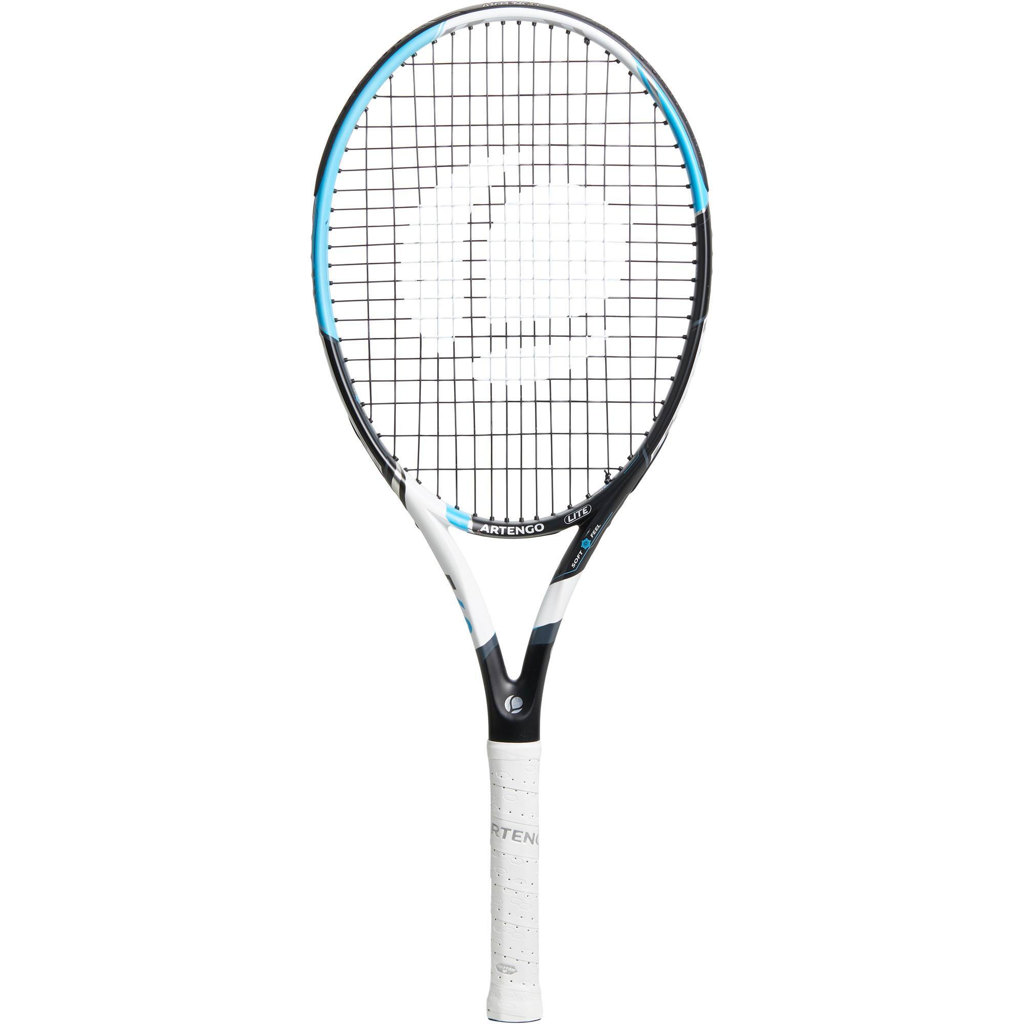 TR560 Lite Adult Tennis Racket - Black/Blue/White   artengo