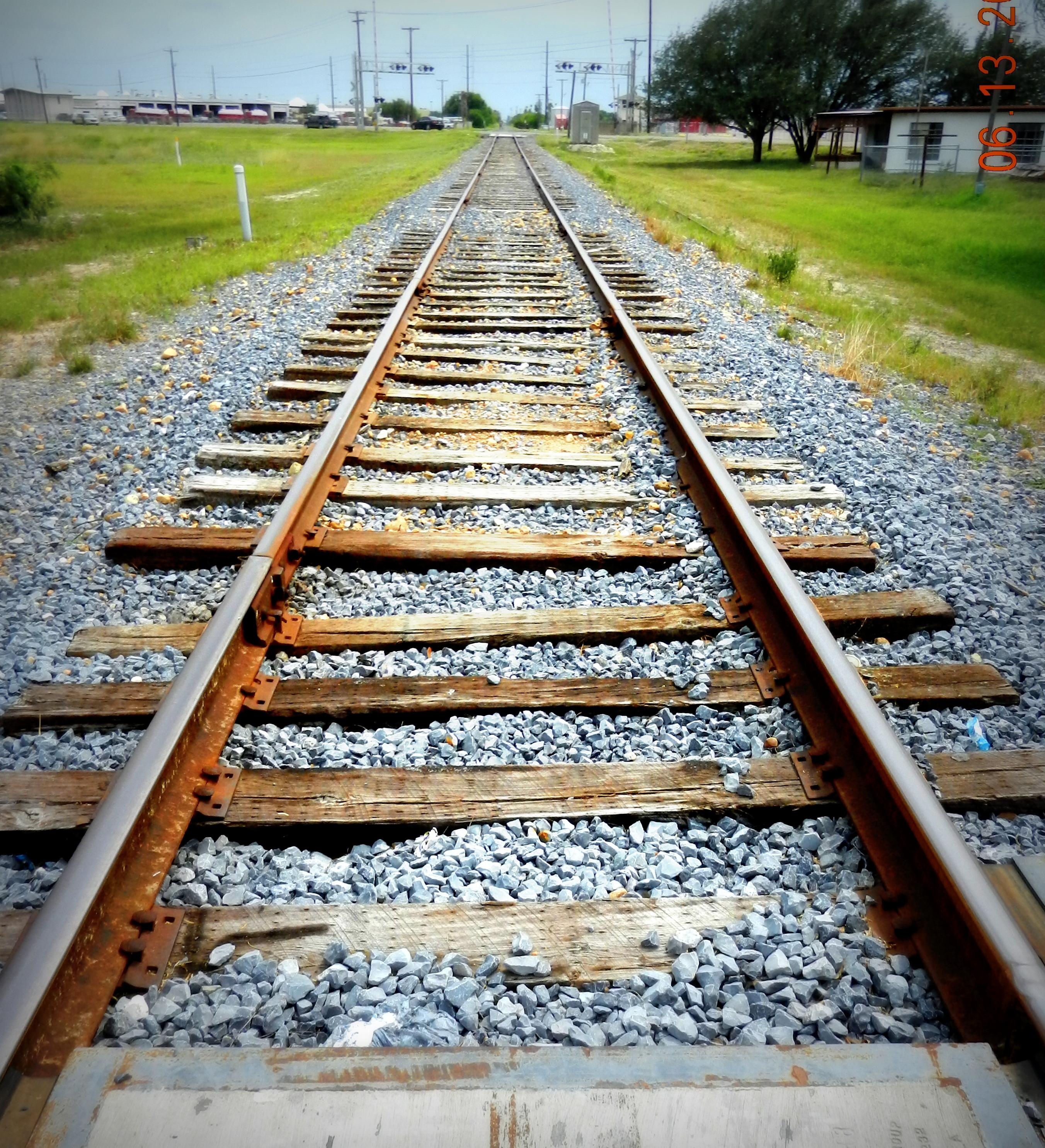 Rail track, Path, Rail, Railroad, Tracks, HQ Photo